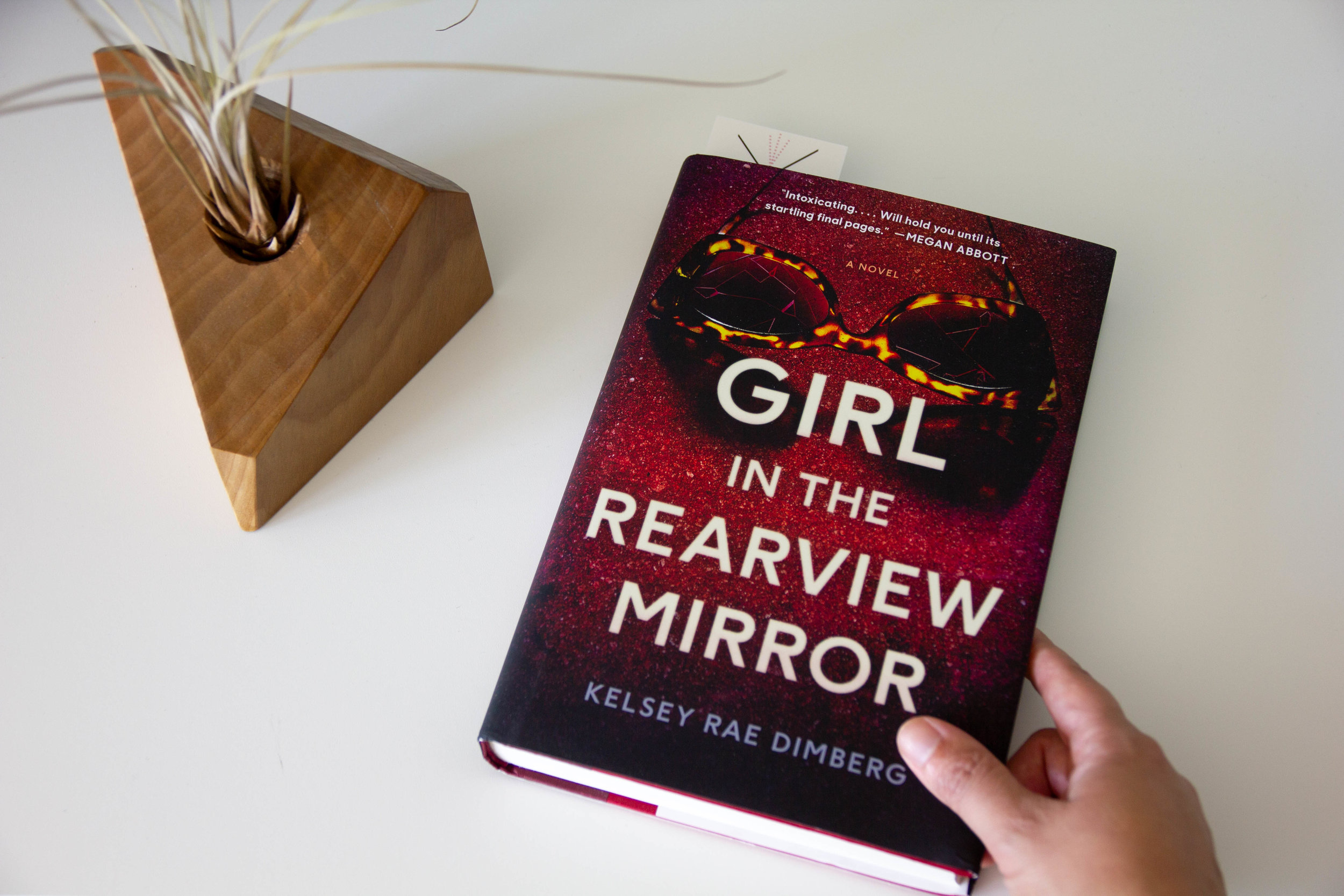 Book Feature - Girl in the Rearview Mirror by Kelsey Rae Dimberg