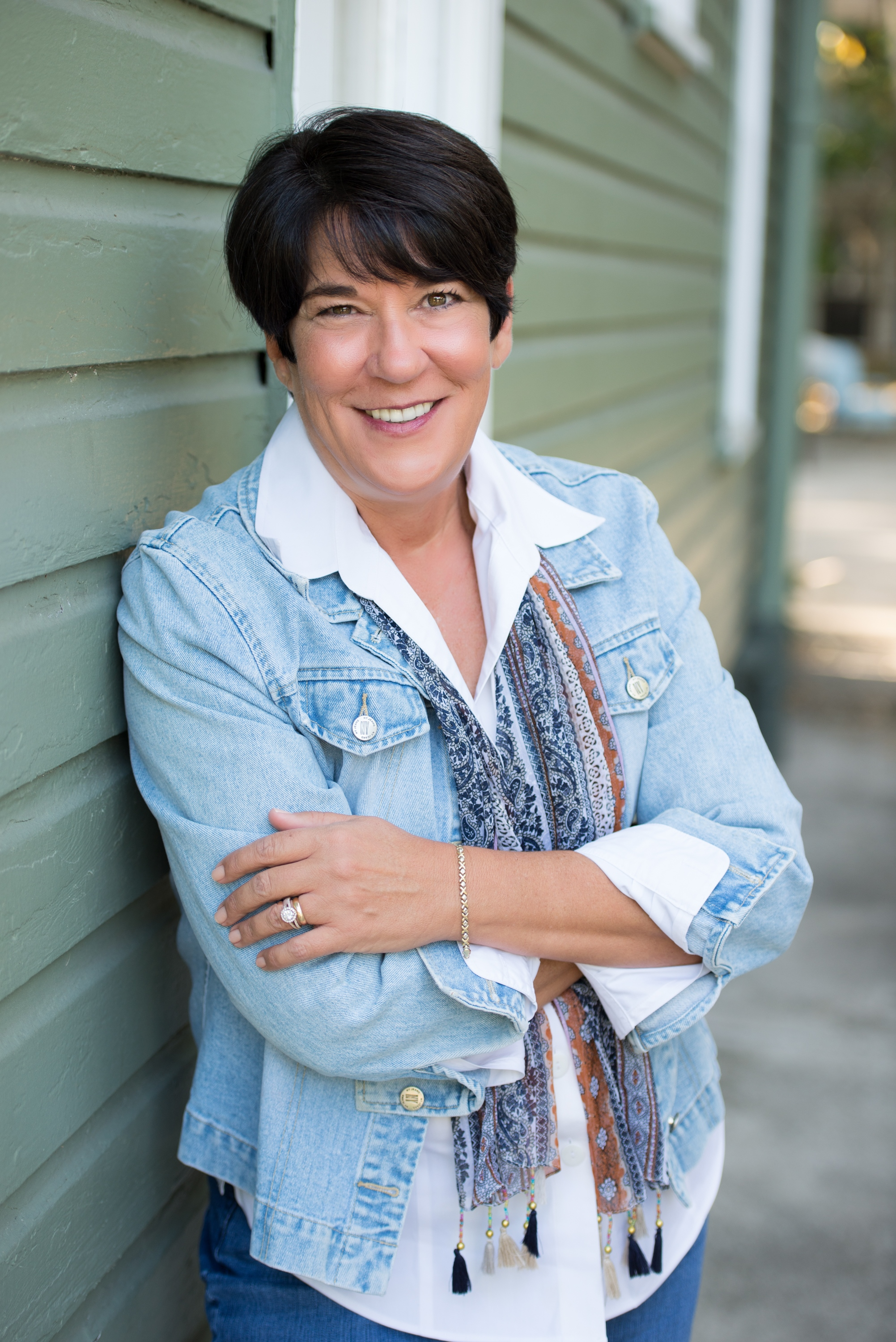 Colleen D. Scott - I love to read outside on my lanai at home and at the beach whenever I get the opportunity.