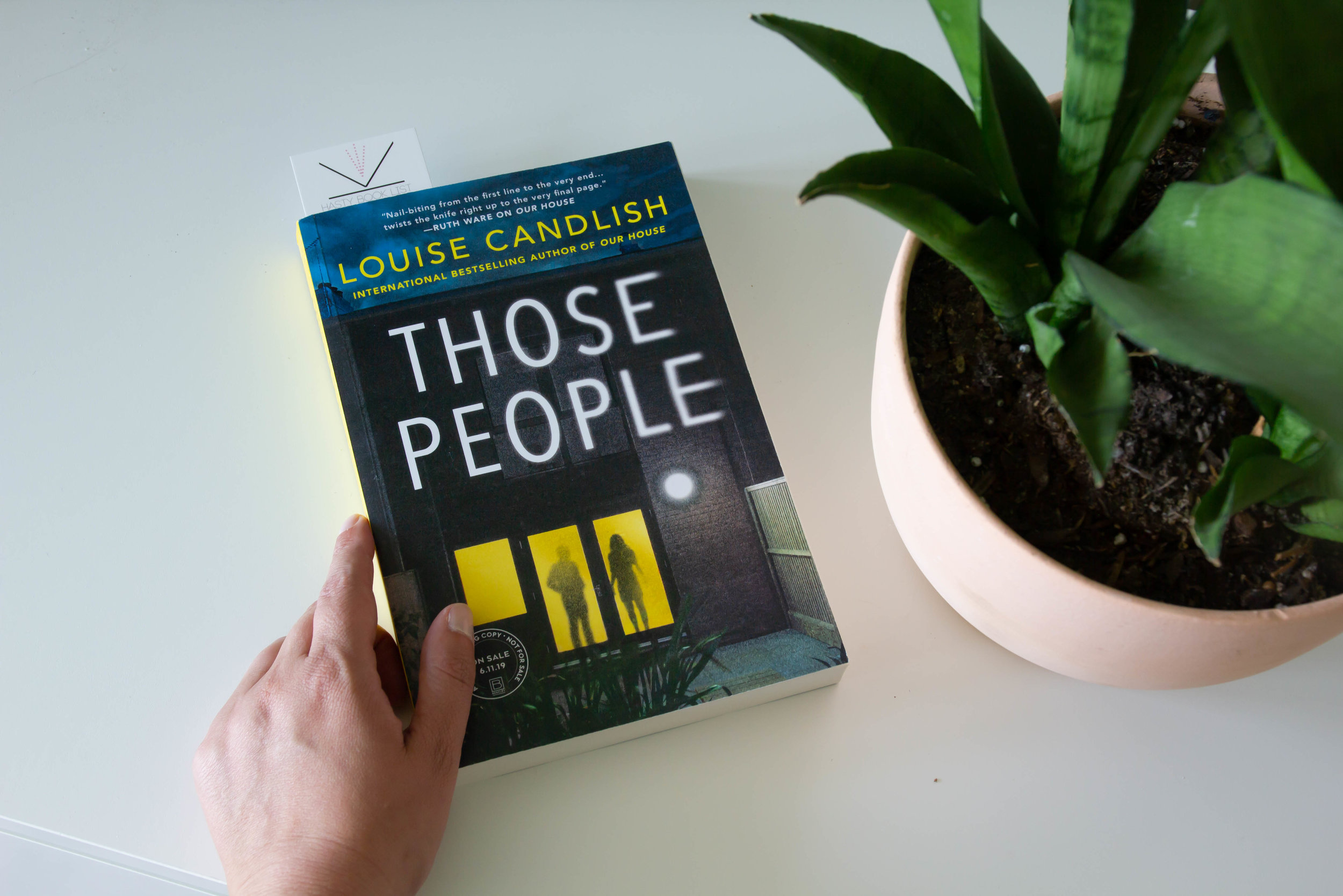 Book Feature - Those People by Louise Candlish