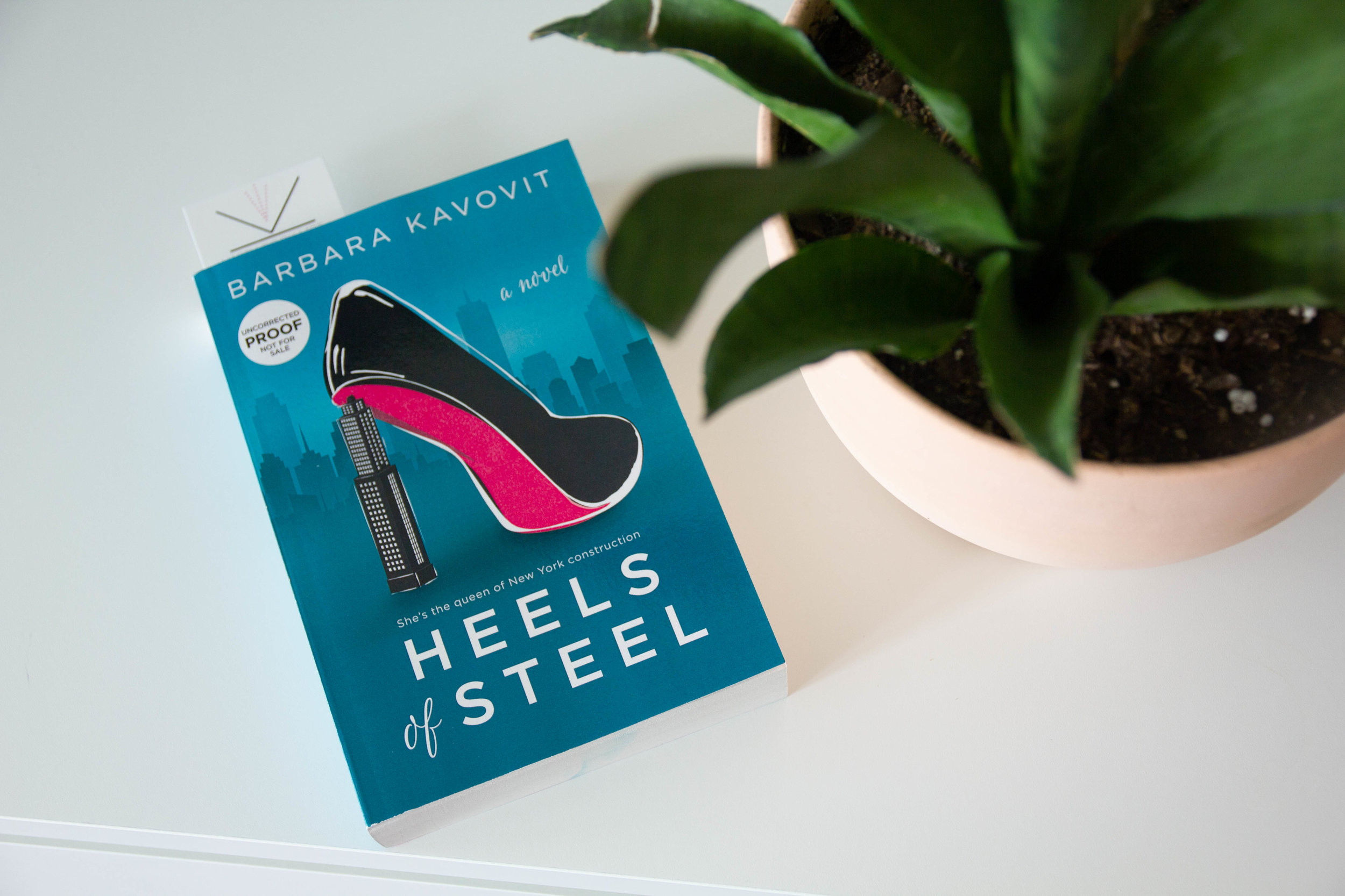 Book Feature - Heels of Steel by Barbara Kavovit