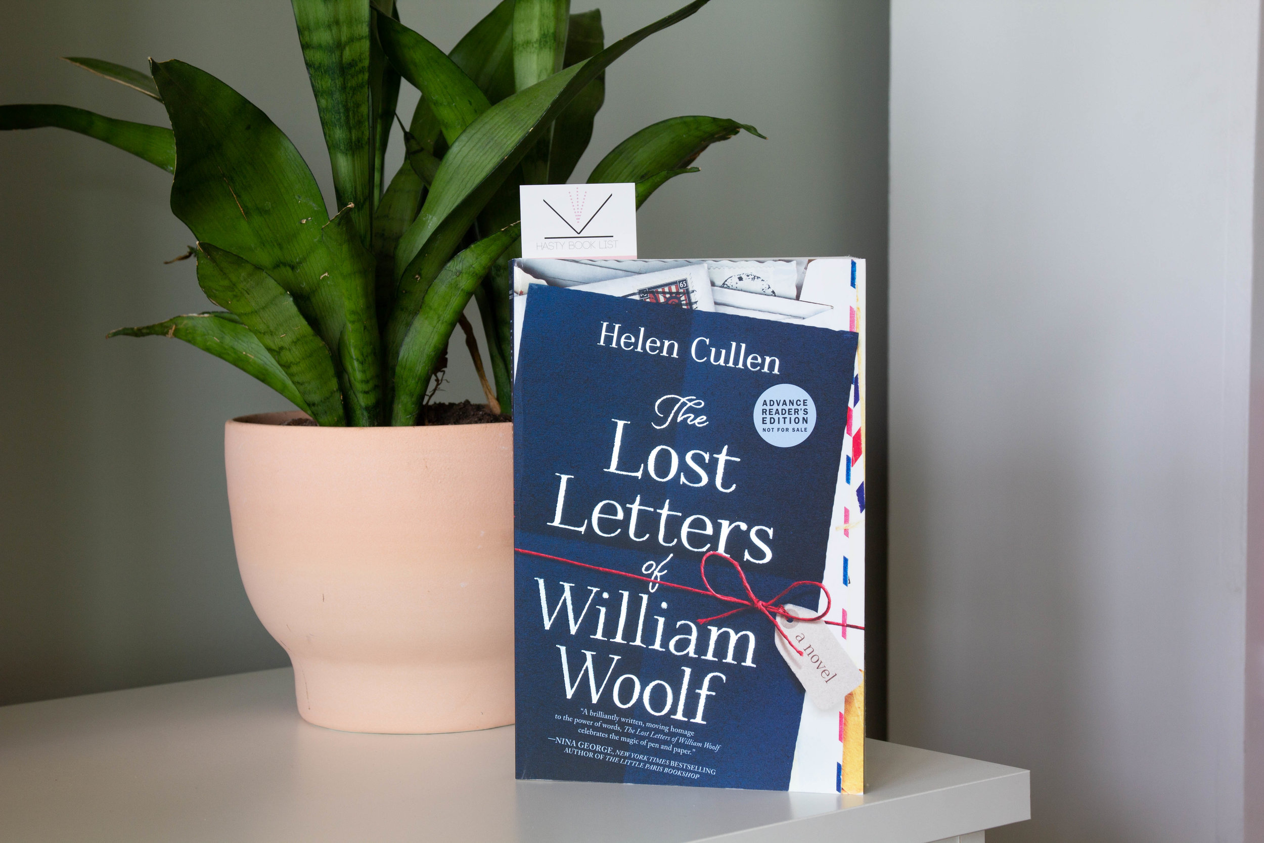 Book Feature - The Lost Letters of William Woolf by Helen Cullen