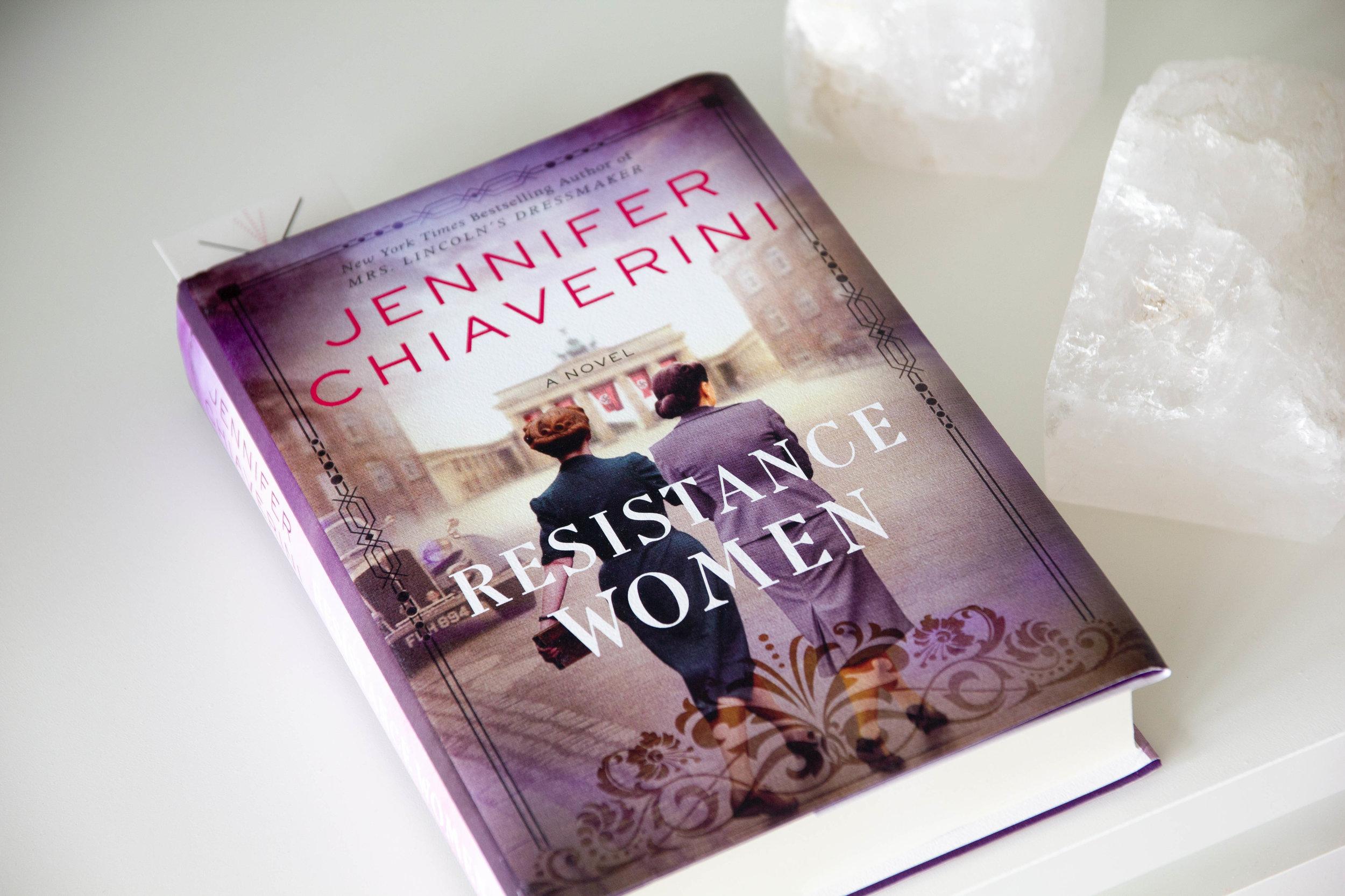 Book Feature - Resistance Women by Jennifer Chiaverini