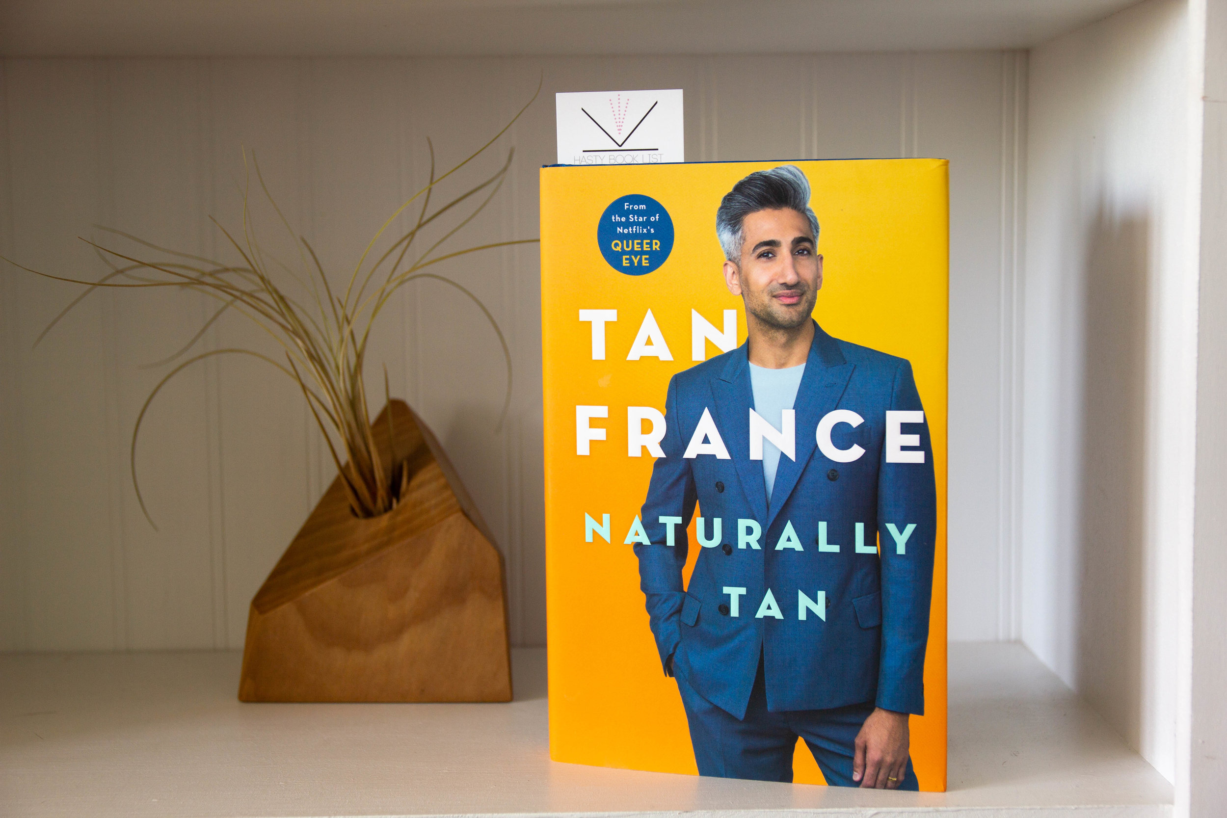 Book Review - Naturally Tan by Tan France