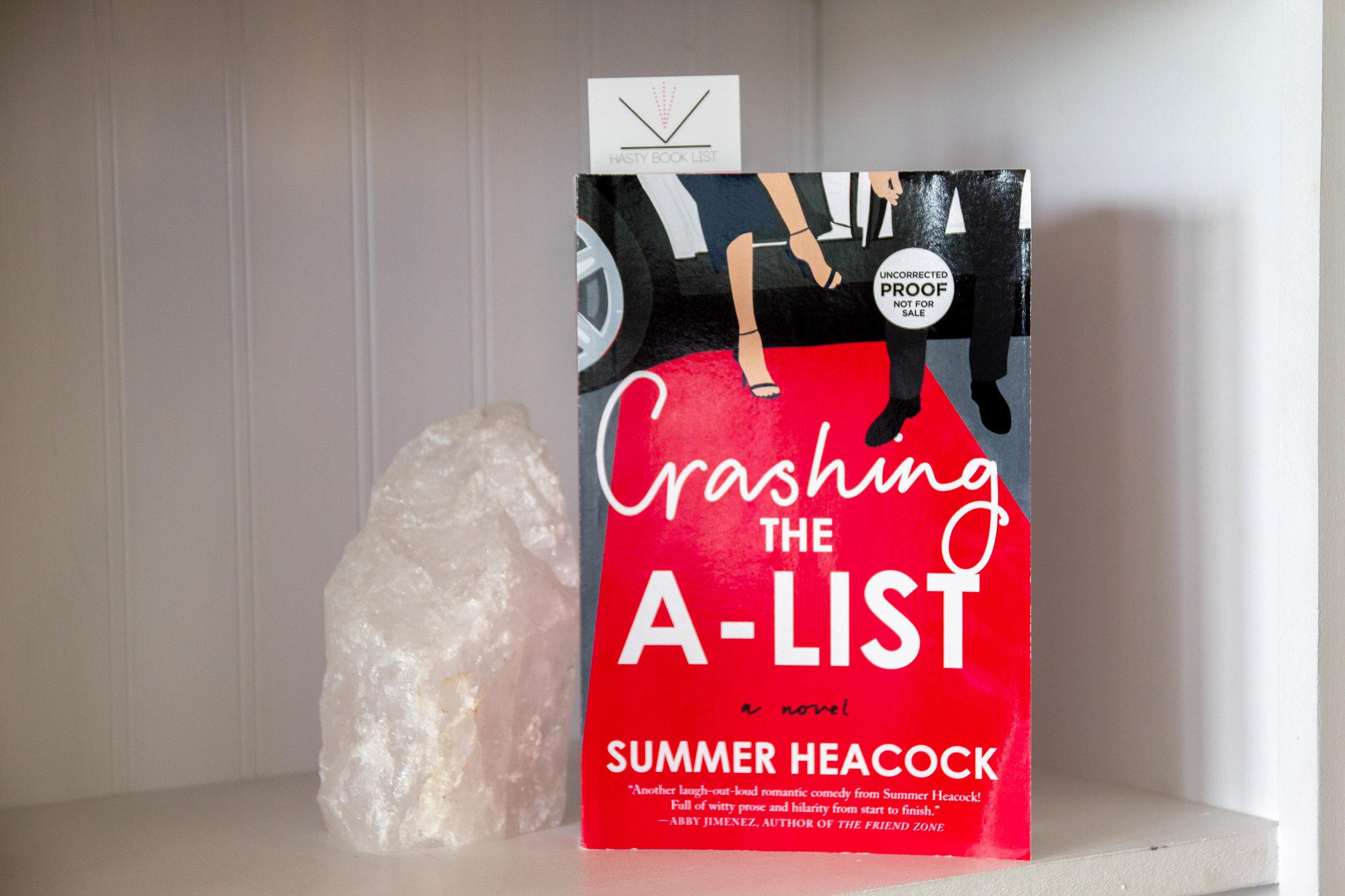 Book Feature - Crashing the A-List by Summer Heacock