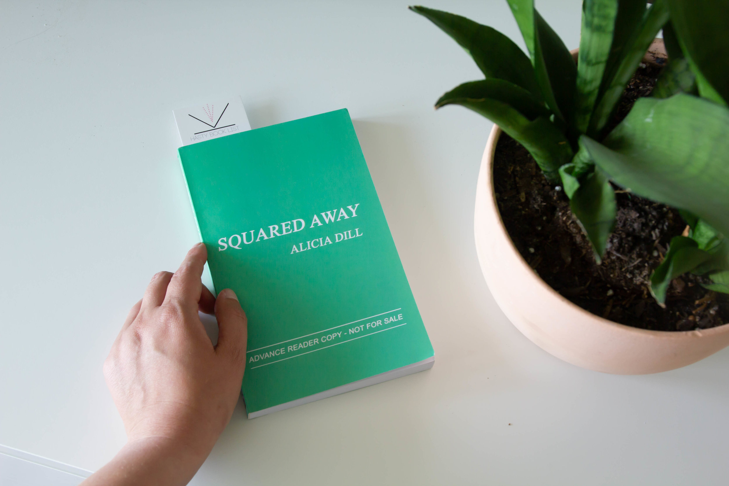 Book Feature - Squared Away by Alicia Dill