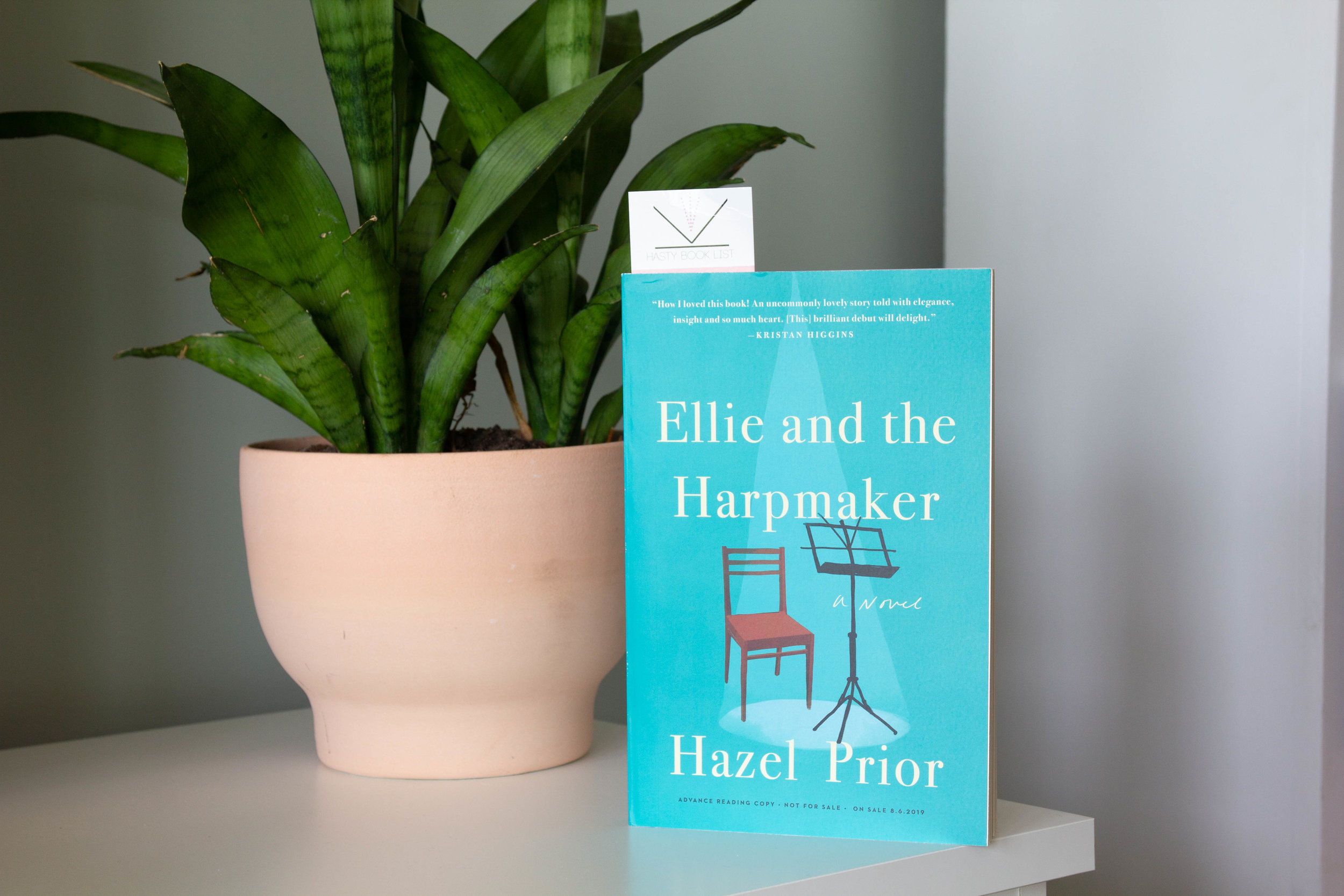 Book Feature - Ellie and the Harpmaker by Hazel Prior