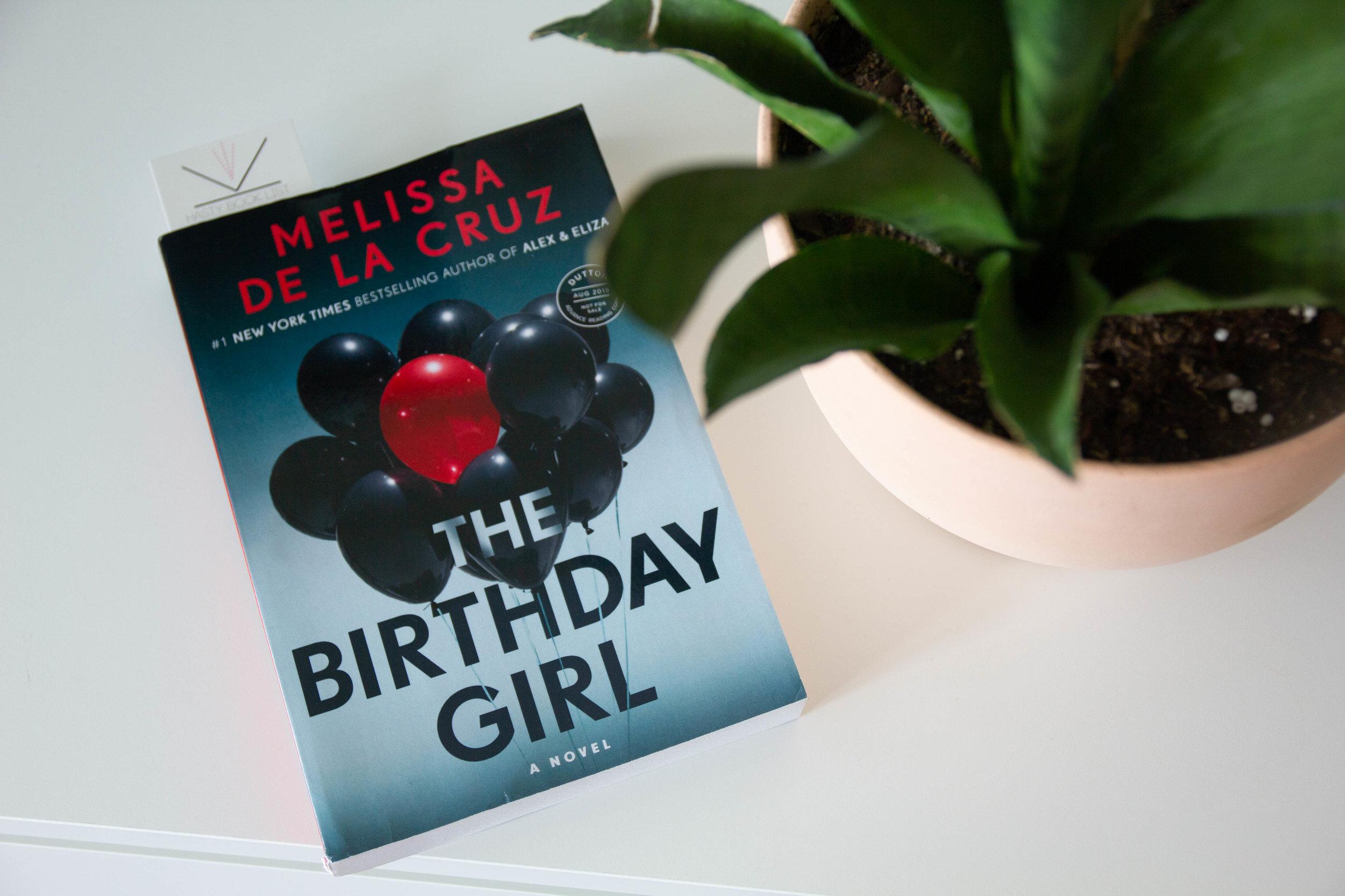 Book Feature - The Birthday Girl by Melissa de la Cruz
