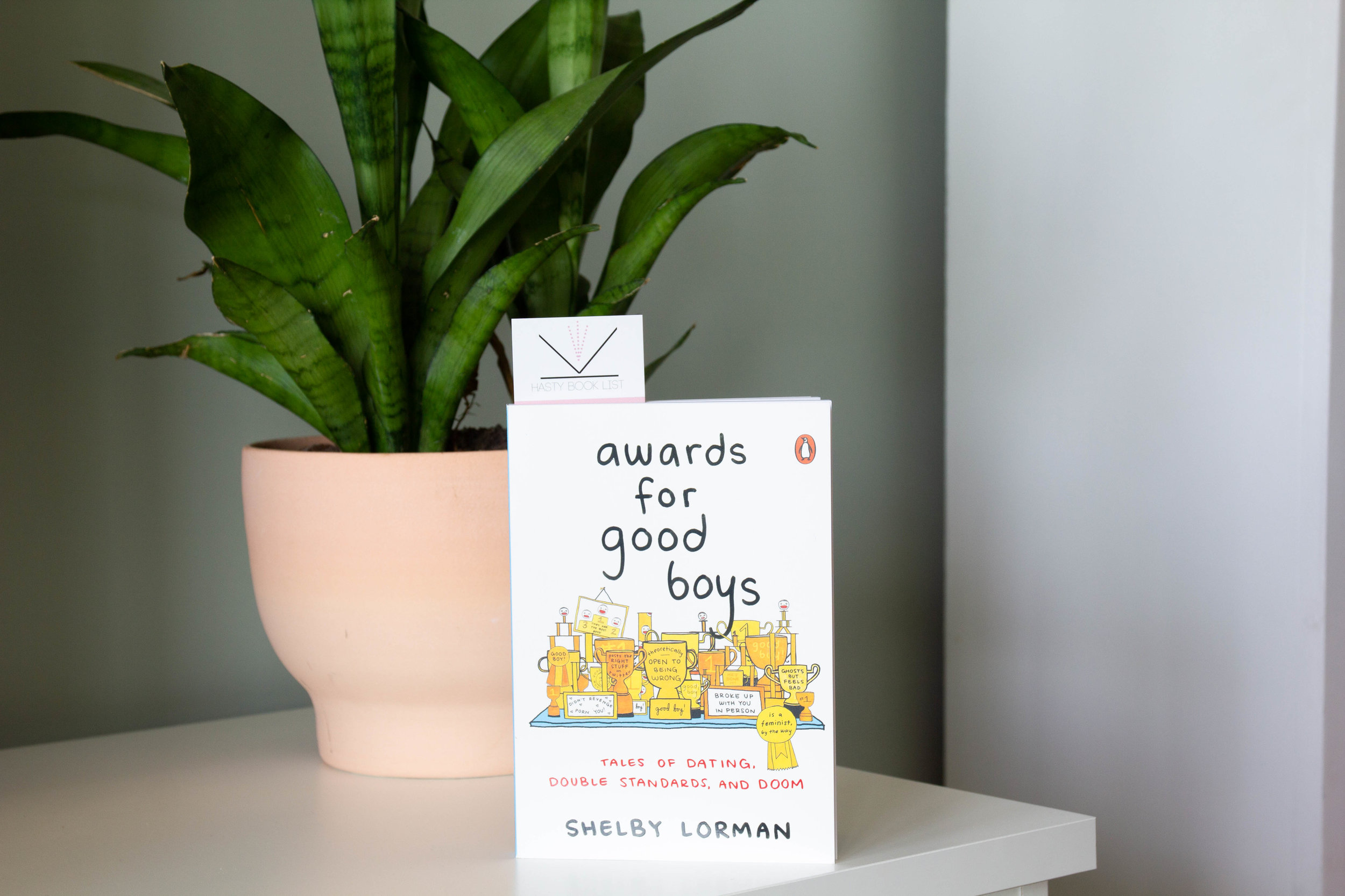 Awards for Good Boys by Shelby Lorman - A wickedly funny illustrated look at living and dating in a patriarchal culture that celebrates men for displaying the bare minimum of human decency