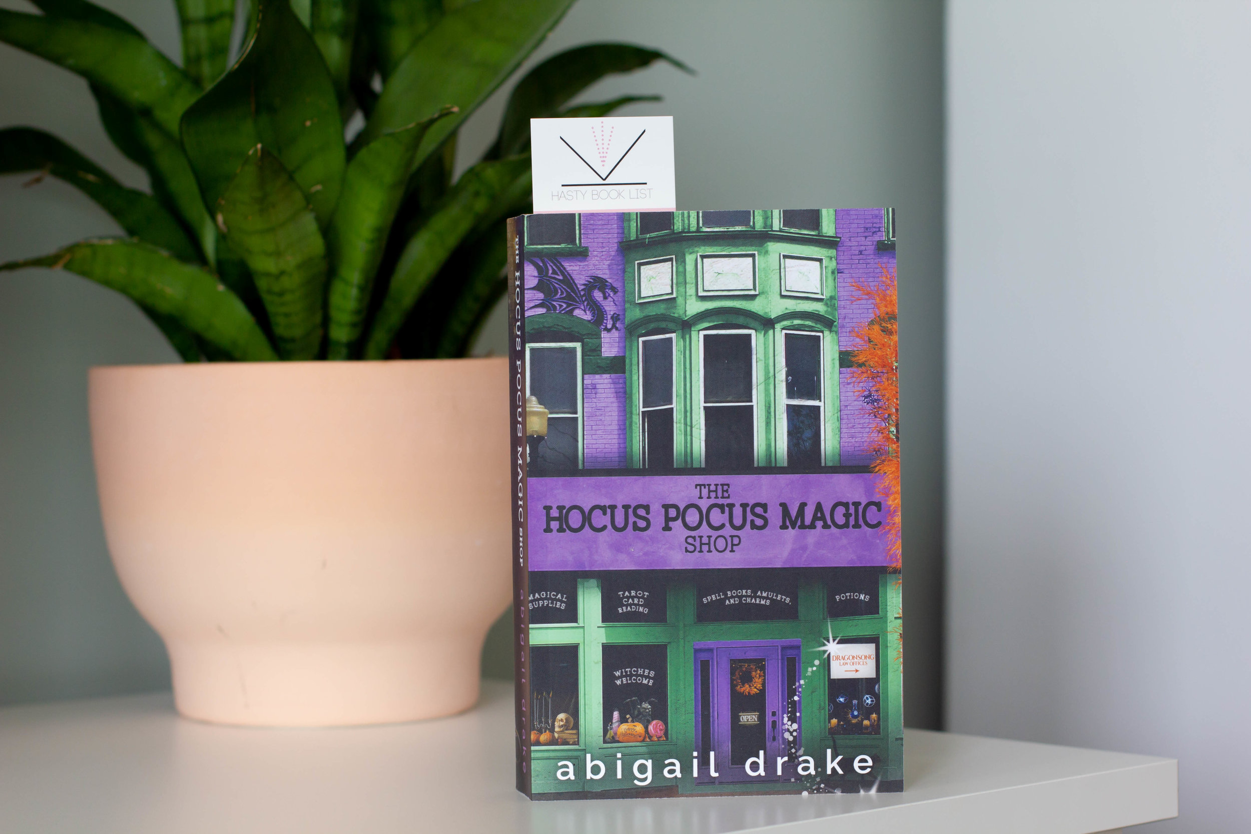 The Hocus Pocus Magic Shop by Abigail Drake - The Hocus Pocus Magic Shop is the second book in Abigail Drake's South Side Stories series. Check out her author page to grab the first book in the series, The Enchanted Garden Cafe!