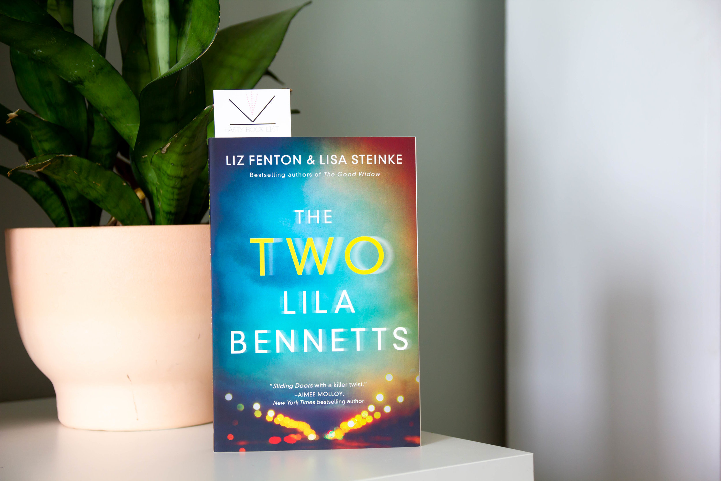 The Two Lila Bennetts by Liz Fenton and Lisa Steinke - Lila Bennett's bad choices have finally caught up with her. And one of those decisions has split her life in two. Literally.