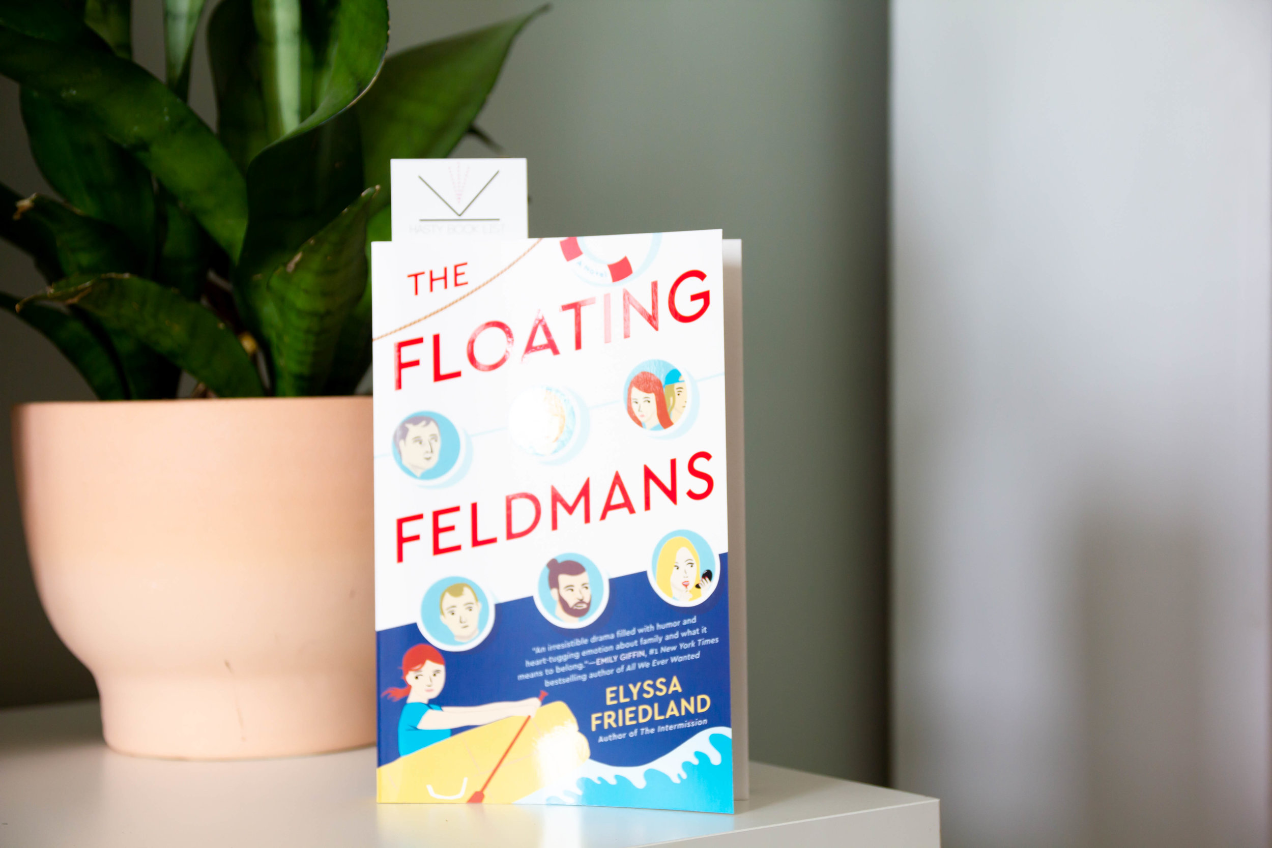The Floating Feldmans by Elyssa Friedland - A family vacation dredges up a boatload of trouble in the next witty, insightful novel from the acclaimed author of The Intermission.