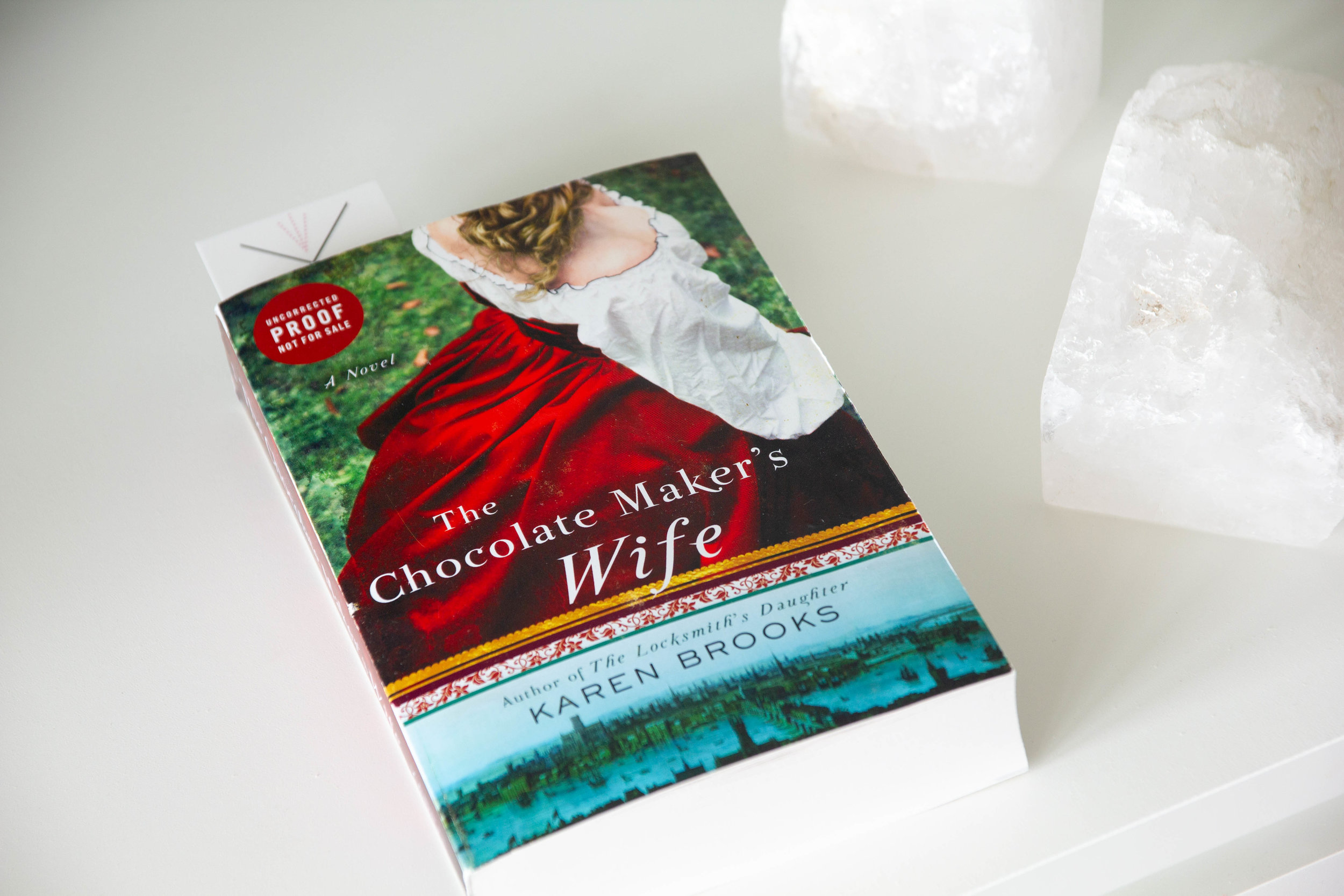 Book Feature - The Chocolate Maker's Wife by Karen Brooks
