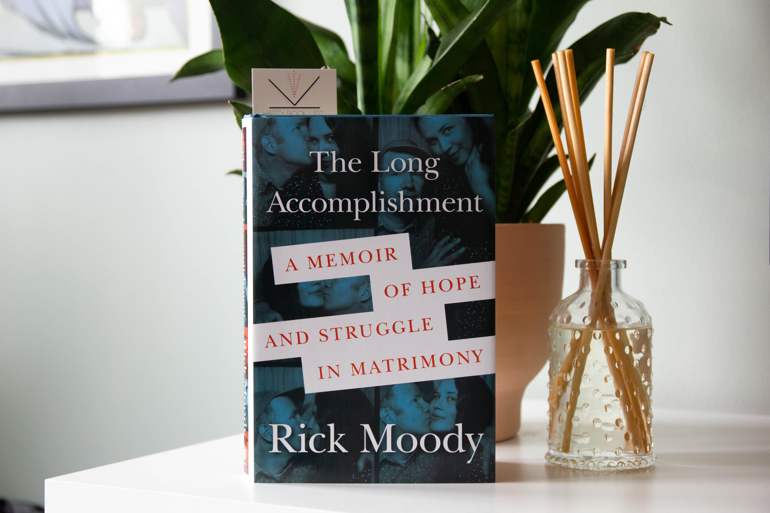 """The Long Accomplishment by Rick Moody - At this story's start, Moody, a recovering alcoholic and sexual compulsive with a history of depression, is also the divorced father of a beloved little girl and a man in love; his answer to the question """"Would you like to be in a committed relationship?"""" is, fully and for the first time in his life, """"Yes."""""""