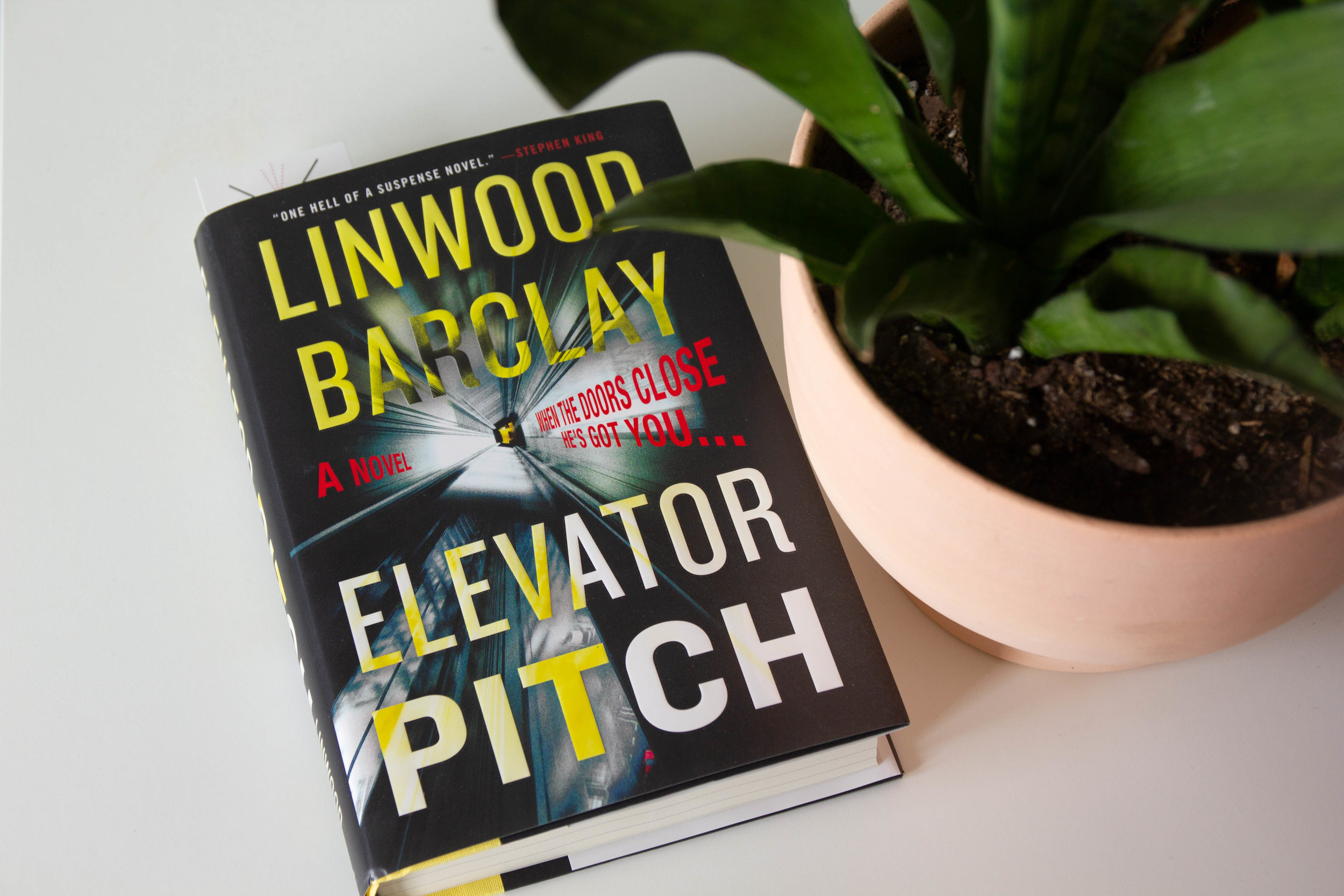 Book Feature - Elevator Pitch by Linwood Barclay