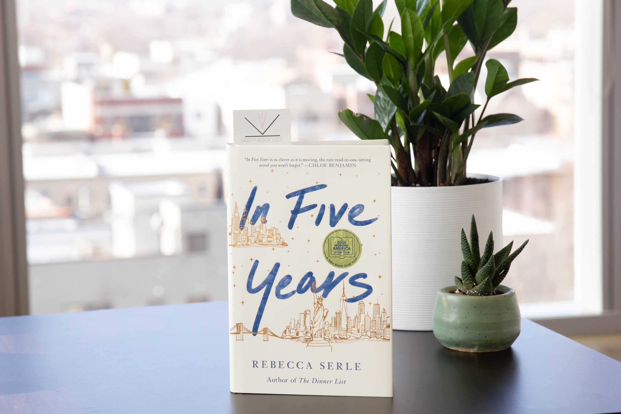 In Five Years Book