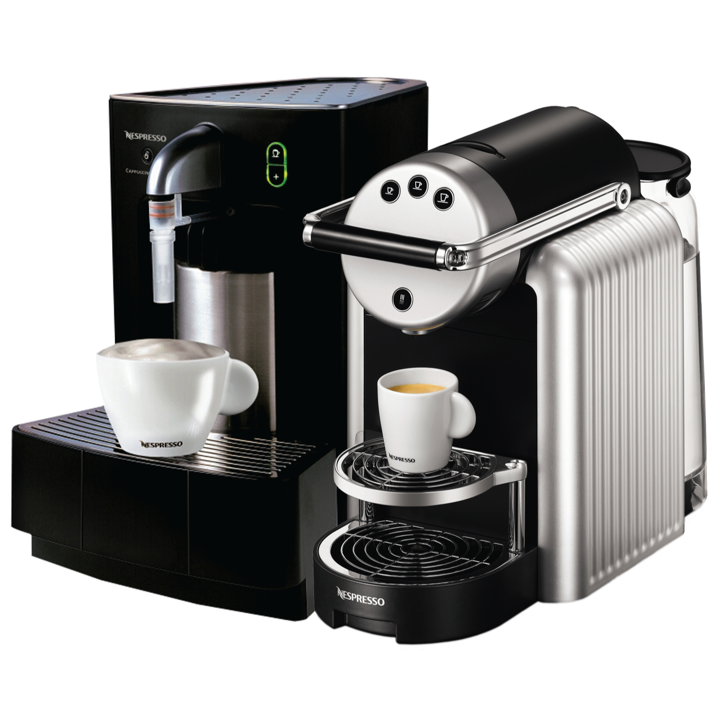 Zenius is the first coffee machine by Nespresso with all the right connections, ideal for any size business where quality, intuition and simplicity are all important. Fast and efficient, Zenius quickly prepares exceptional coffee and hot water at the touch of a button. Pair with with a CAPPUCCINATORE to make the perfect cappuccino for your business.