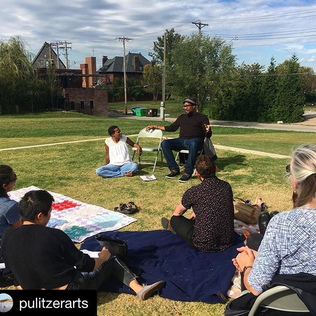 #Repost @pulitzerarts (@get_repost) ・・・ Thank you to everyone who joined us Saturday for Building as Healing: Closing Conversation for A Way, Away (Listen While I Say). Bringing together the A Way, Away artists Amanda Williams and Andres L. Hernandez and local community partners, the closing conversation engaged participants in thinking about the life cycle of a building and the role of healing in urban design. To learn more about A Way, Away and the community grantees, visit @awayawaystl. #awayaway