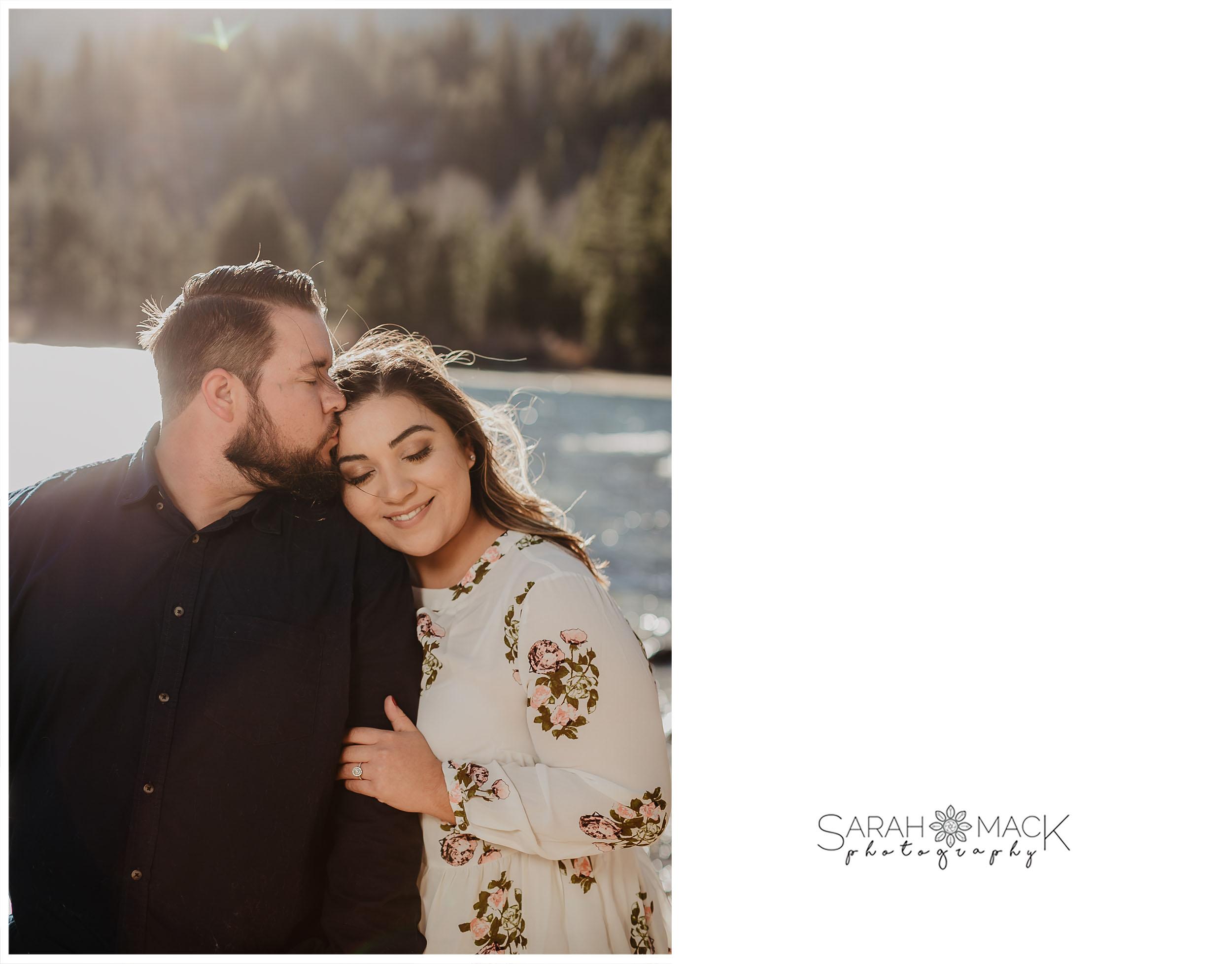 Rock Creek Lake Mammoth Engagement Photography