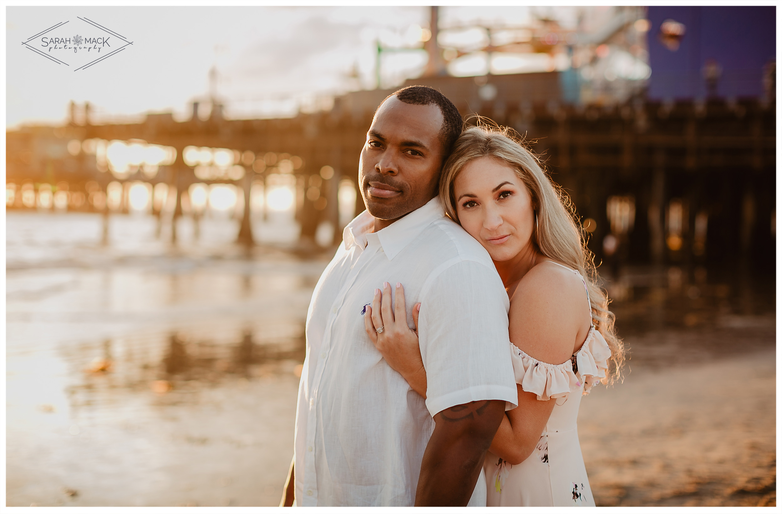 Santa-Monica-Pier-Engagement-Photography