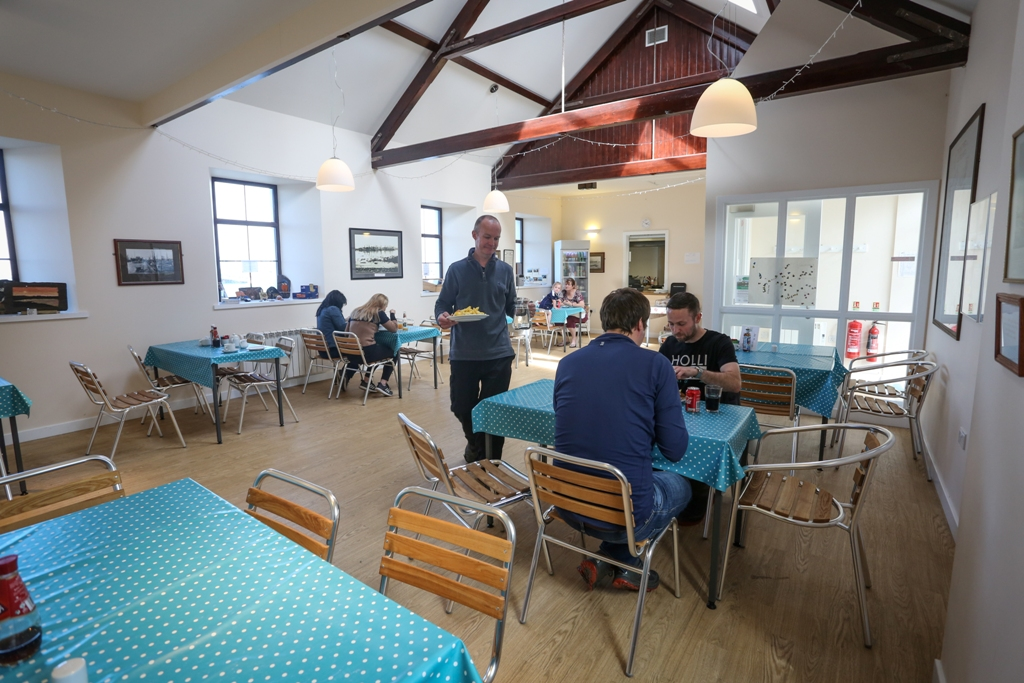 The Fish Mart cafe and hostel, Stronsay