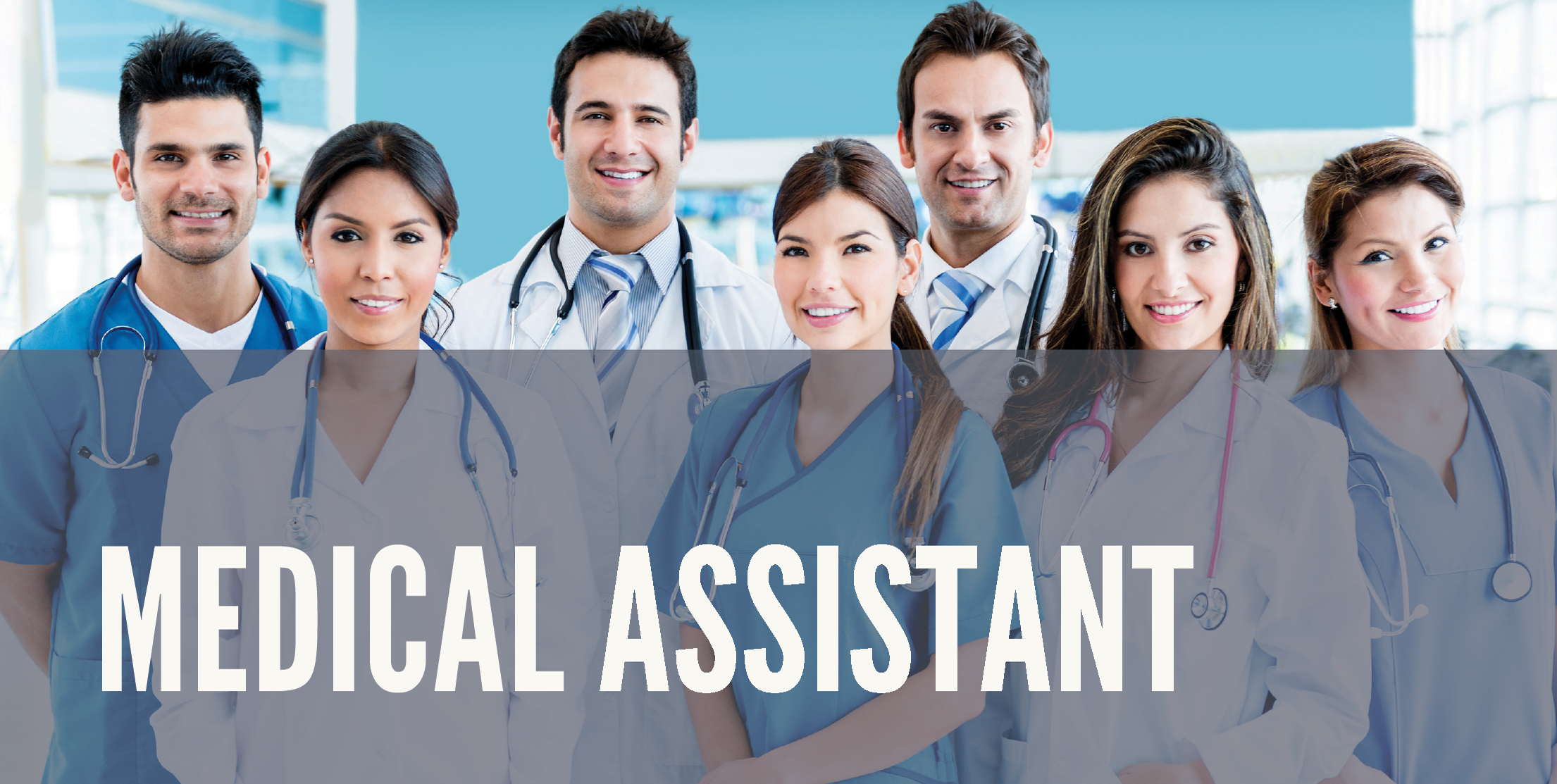 Medical Assistant - Learn to work in an ambulatory care setting and perform front and back office procedures. Curriculum approved by the National Health Career Association (NHA), and offers the following certifications: Certified Clinical Medical Assistant (CCMA).Subjects discussed in this course include: Medical Terminology, Introduction to health, Introduction to health care systems, Professional preparation for health care workers, basic math skills for health care workers, anatomy and physiology, basic patient intake, medical front desk, medical billing, pharmacology, medicine administration, phlebotomy and EKG.Course Duration: 10 weeks