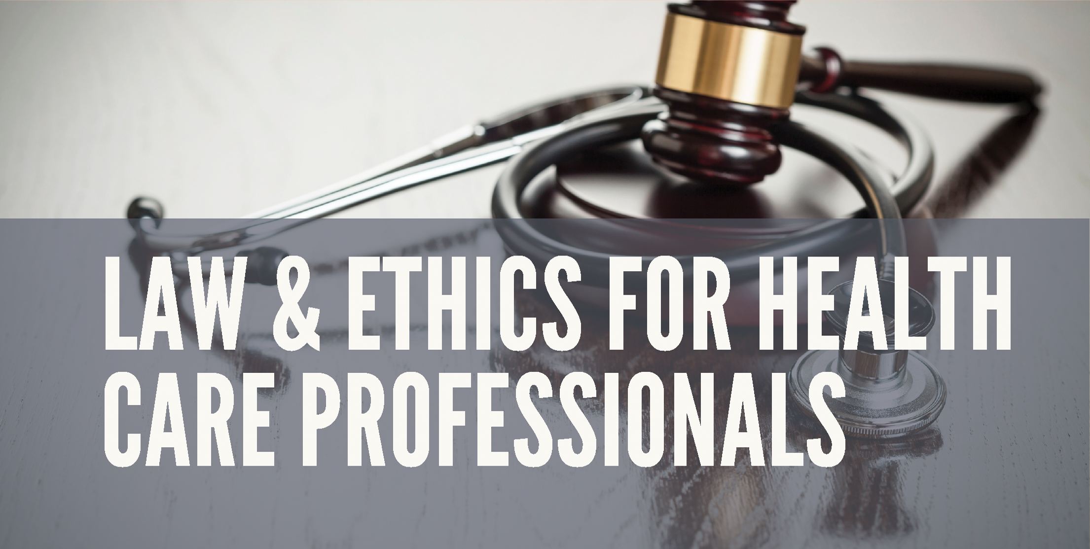 Law & Ethics For Health Care Professionals - This course is perfect for any health care worker as it illustrates the numerous legal and ethical issues that health care professionals face every day. The topics are derived from real-life experiences and dilemmas from a variety of health care practitioners. Through the use of Learning Outcomes, Key Terms, Ethics Issues, Chapter Reviews, Case Studies, Internet Activities, Court Cases, and Video Vignettes, students hear from health care practitioners in various locations throughout the United States as they encounter legal and ethical problems and situations. Students will practice critical thinking skills to decide how to resolve the real-life situations or theoretical scenarios, determine why the court made a particular ruling and decide how the issues are relevant to the health care profession they will encounter today. Course Duration: 5 weeks