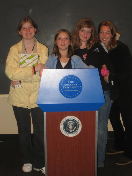 Me (on the far left) with my siblings in Washington D.C.