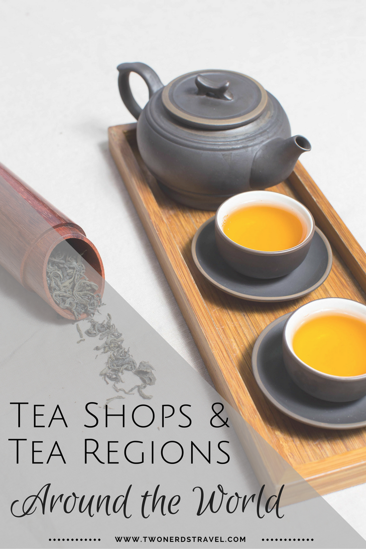 Tea Shops around the World Pinterest