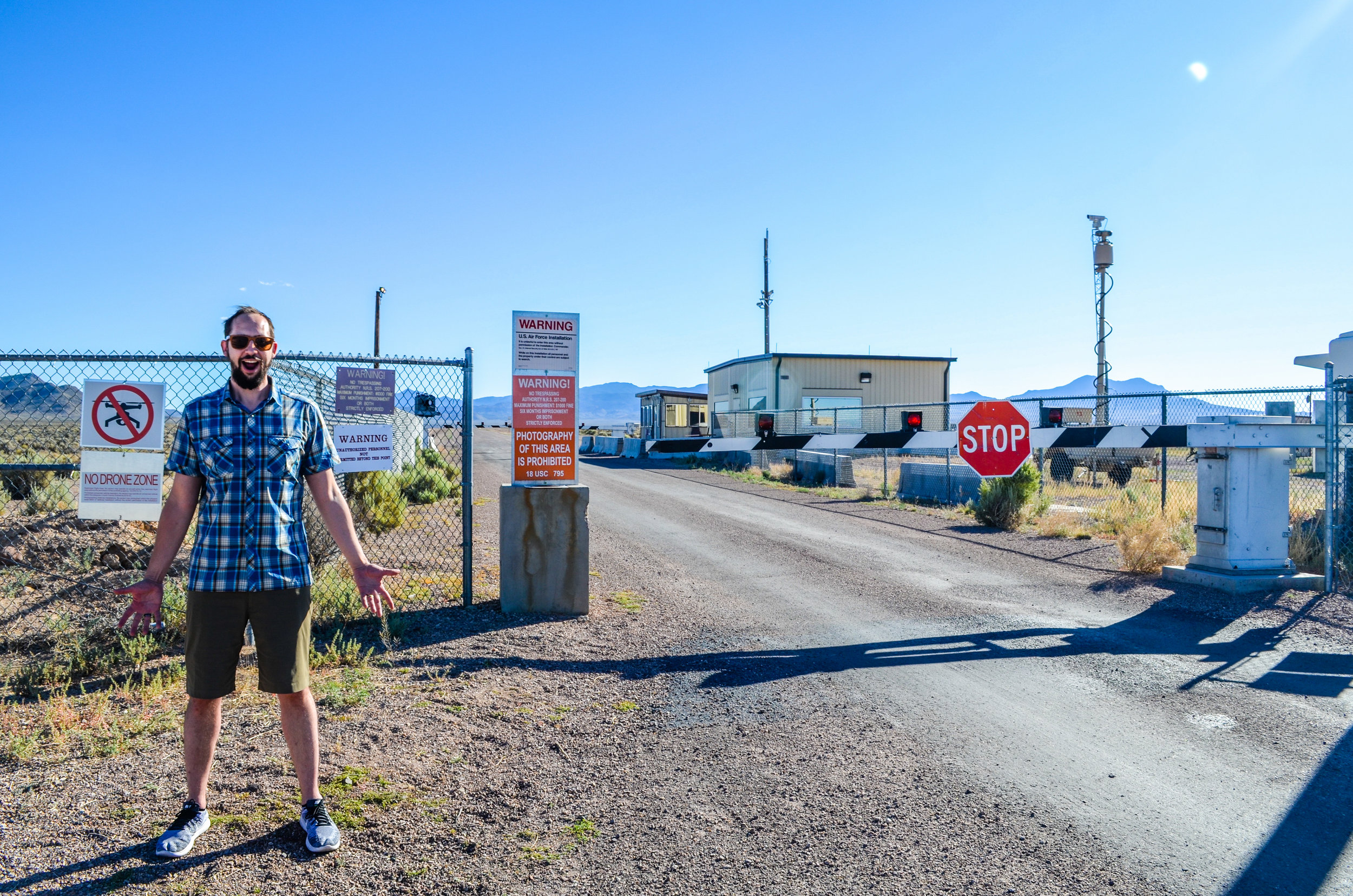 Mr. Nerd (wayyyyy too) excited about Area 51