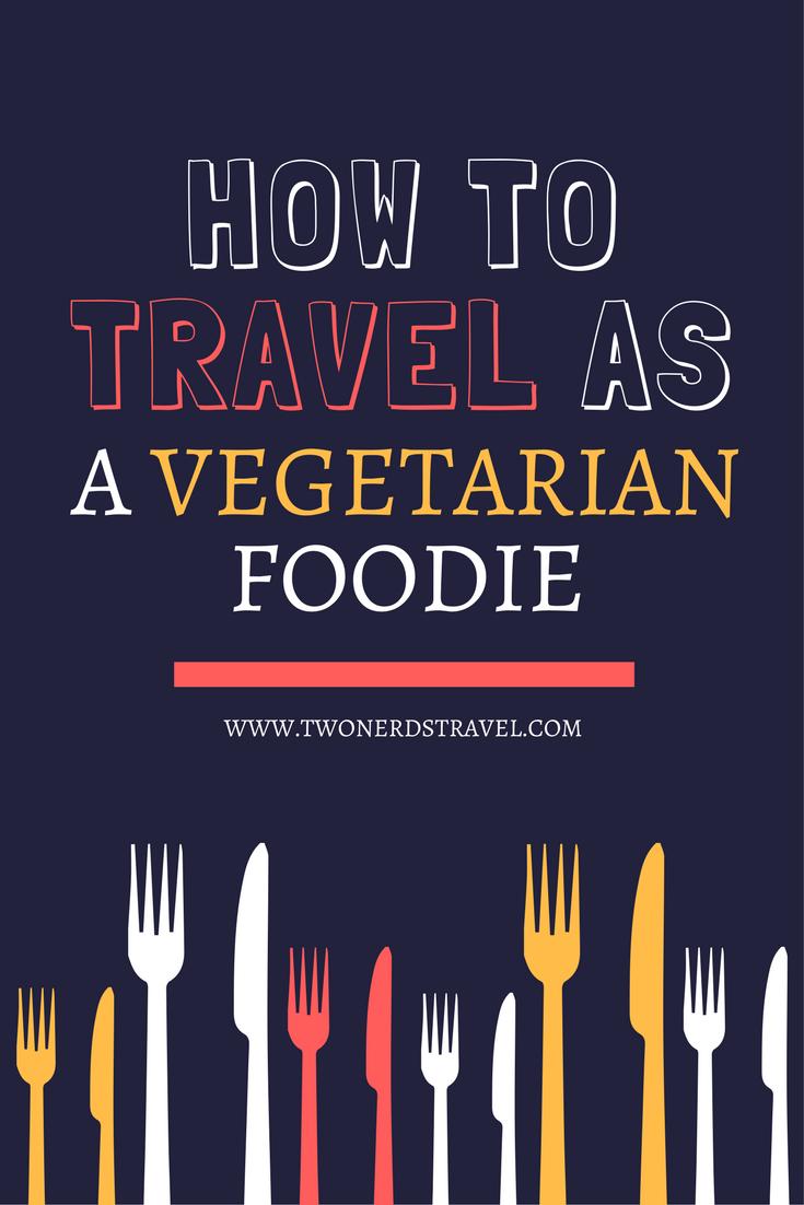 vegetarian foodie pin