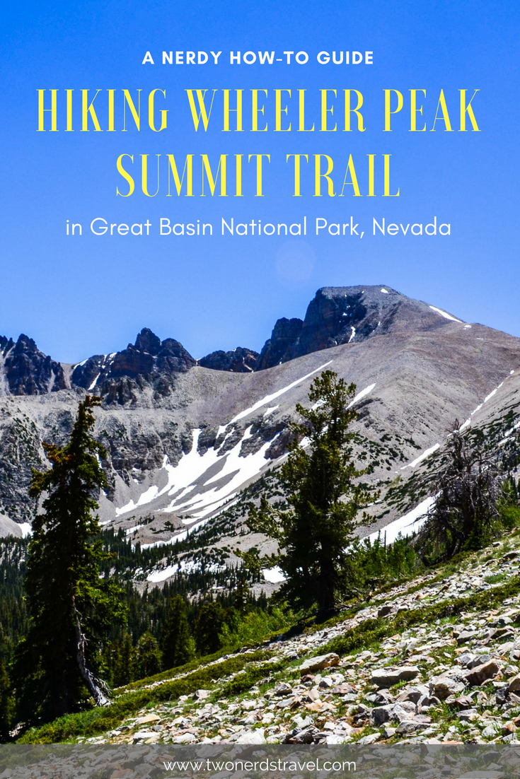 Hiking Wheeler Peak Pinterest