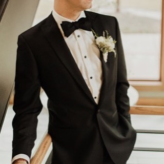 Killer tux—one of ours, of course! And worn [perfectly] by @gtimion #style #suit #tuxedo #wedding #party #fashion #mensfashion