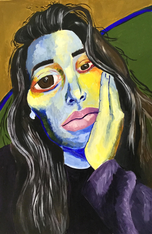 Expressionism Self Portrait