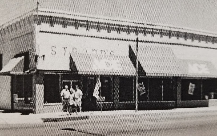 In 1975 the current owners, the Swanson family, purchased the business from the Strand brothers and moved into a larger location on Main Street. -