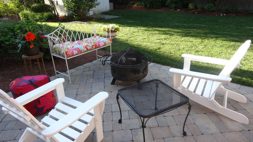 Quality landscape design and patio installation in Norfolk, MA.