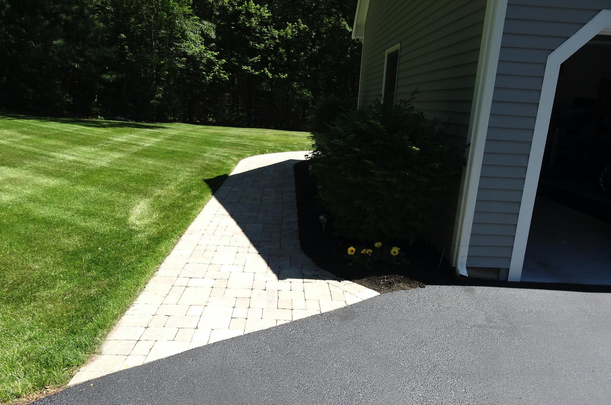 Professional landscape maintenance in Sharon Massachusetts