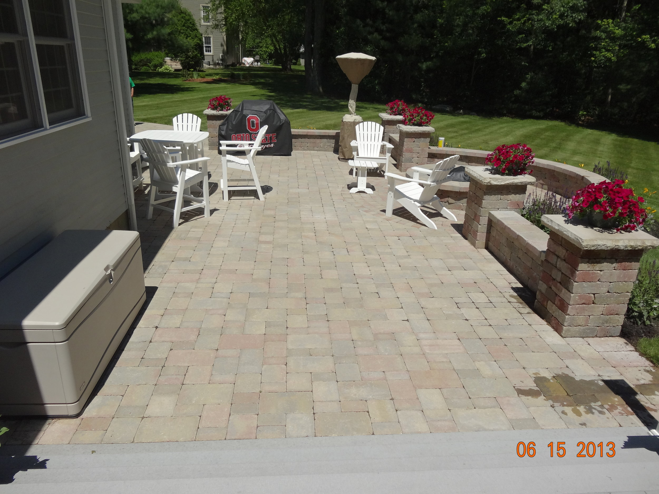 Why Fall Is a Great Time for Patio Installation in Needham, MA