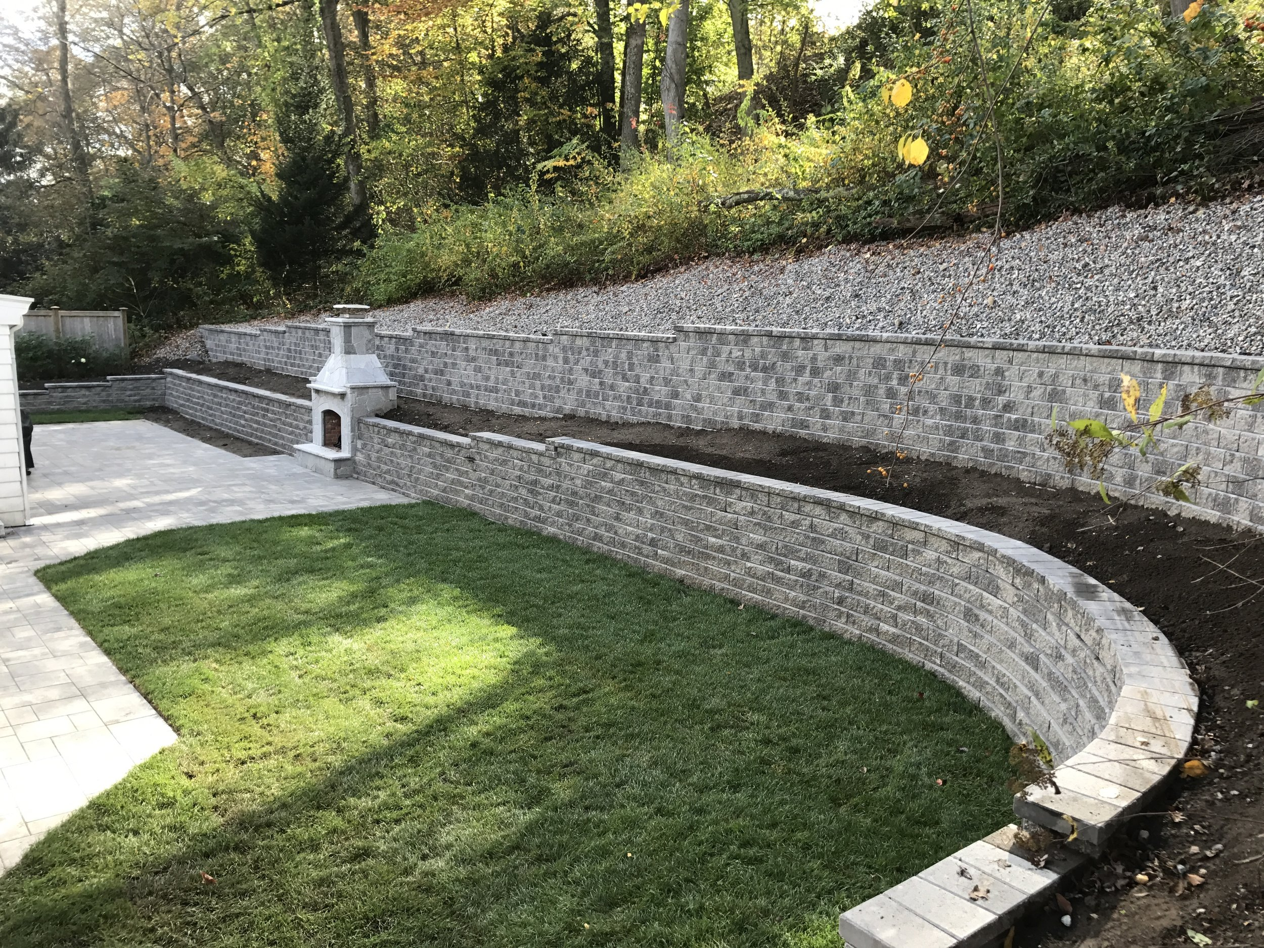 5 Examples of a Revamped Retaining Wall in Newton, MA