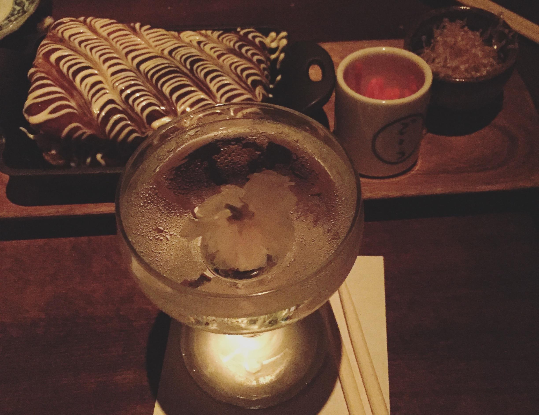 OUR FAV. - Sakura Martini + Okonomiyaki