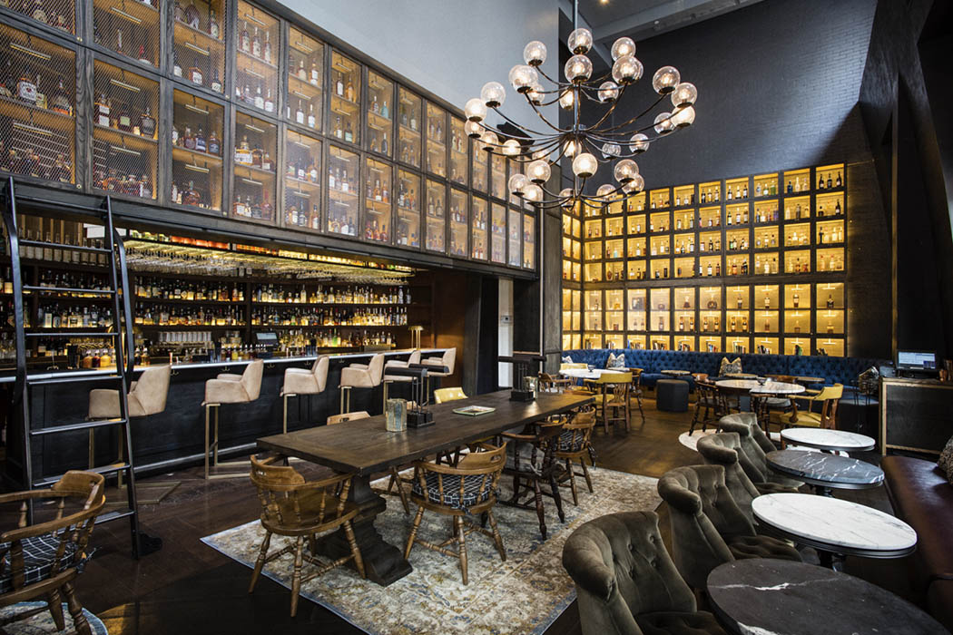 LIBRARY OF DISTILLED SPIRITS. - NEW YORK   Union Square