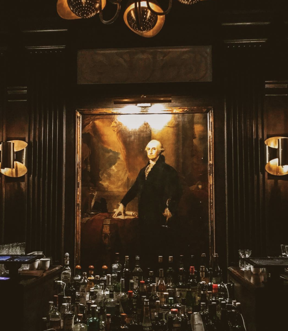 GEORGE WASHINGTON BAR. - NEW YORK