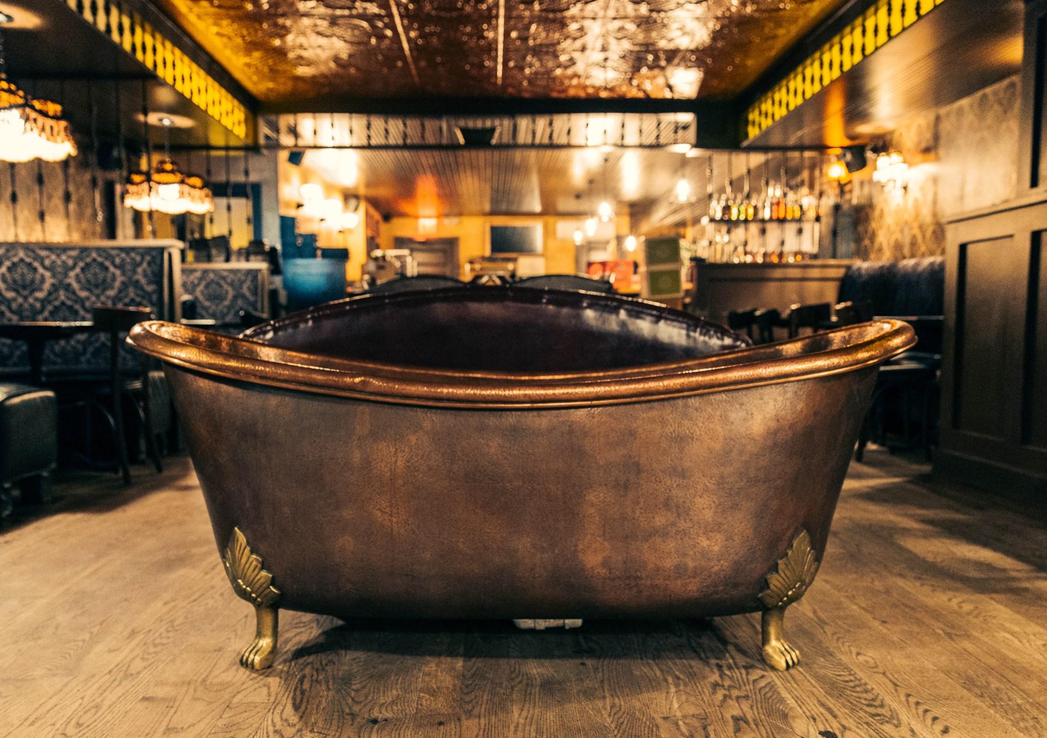 BATHUB GIN - LA MILAGROSA AGAVE BAR & LISTENING ROOM - THE BACK ROOM - NEW YORK