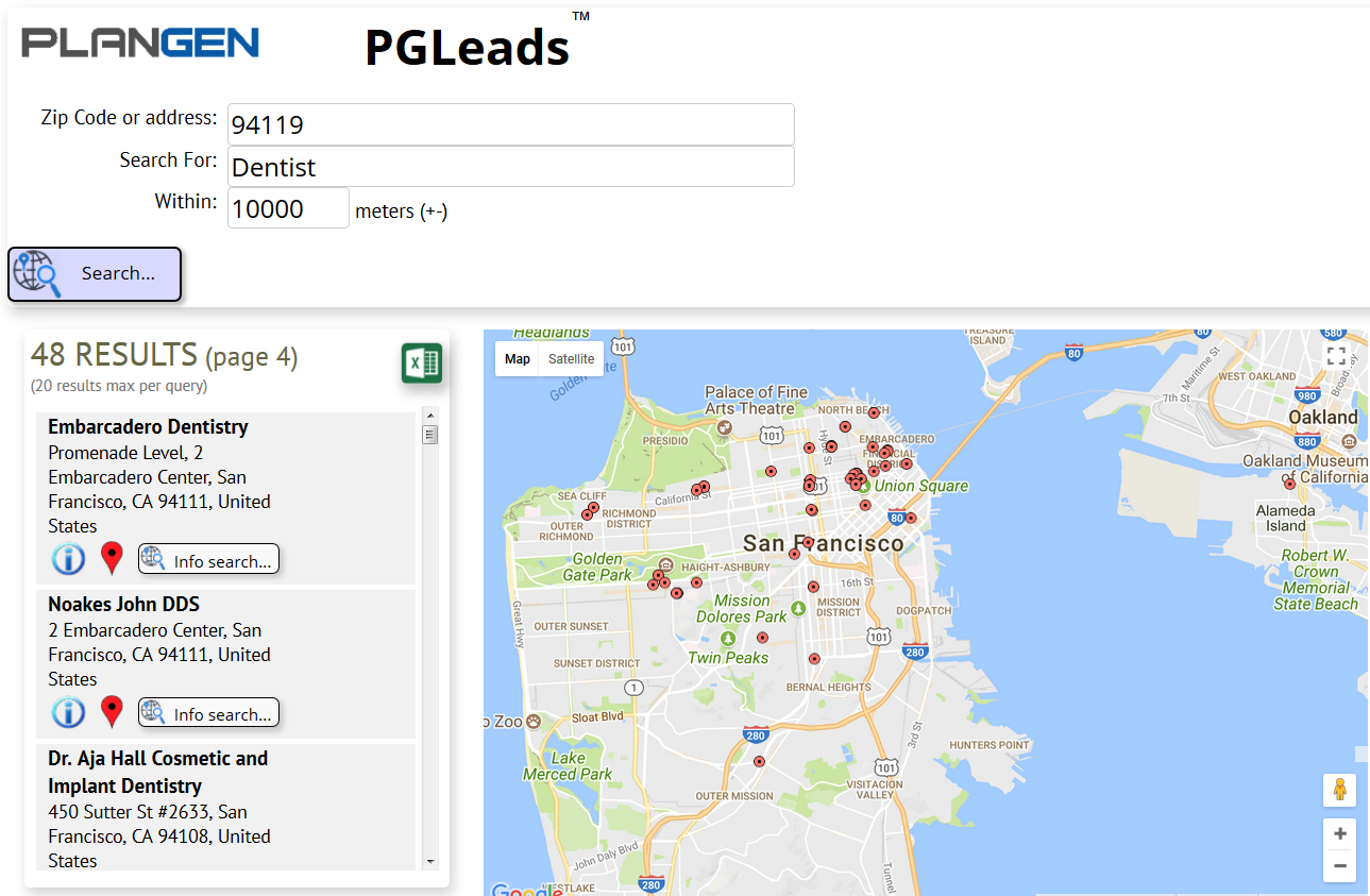 See video of PGLeads in action...