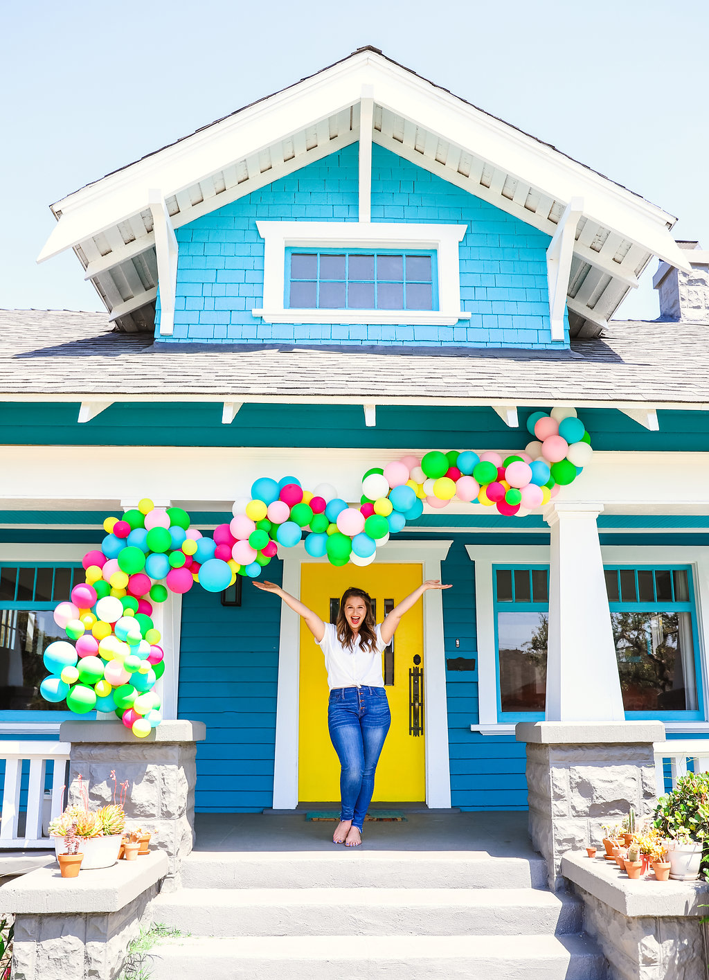 julianna strickland blue house balloons