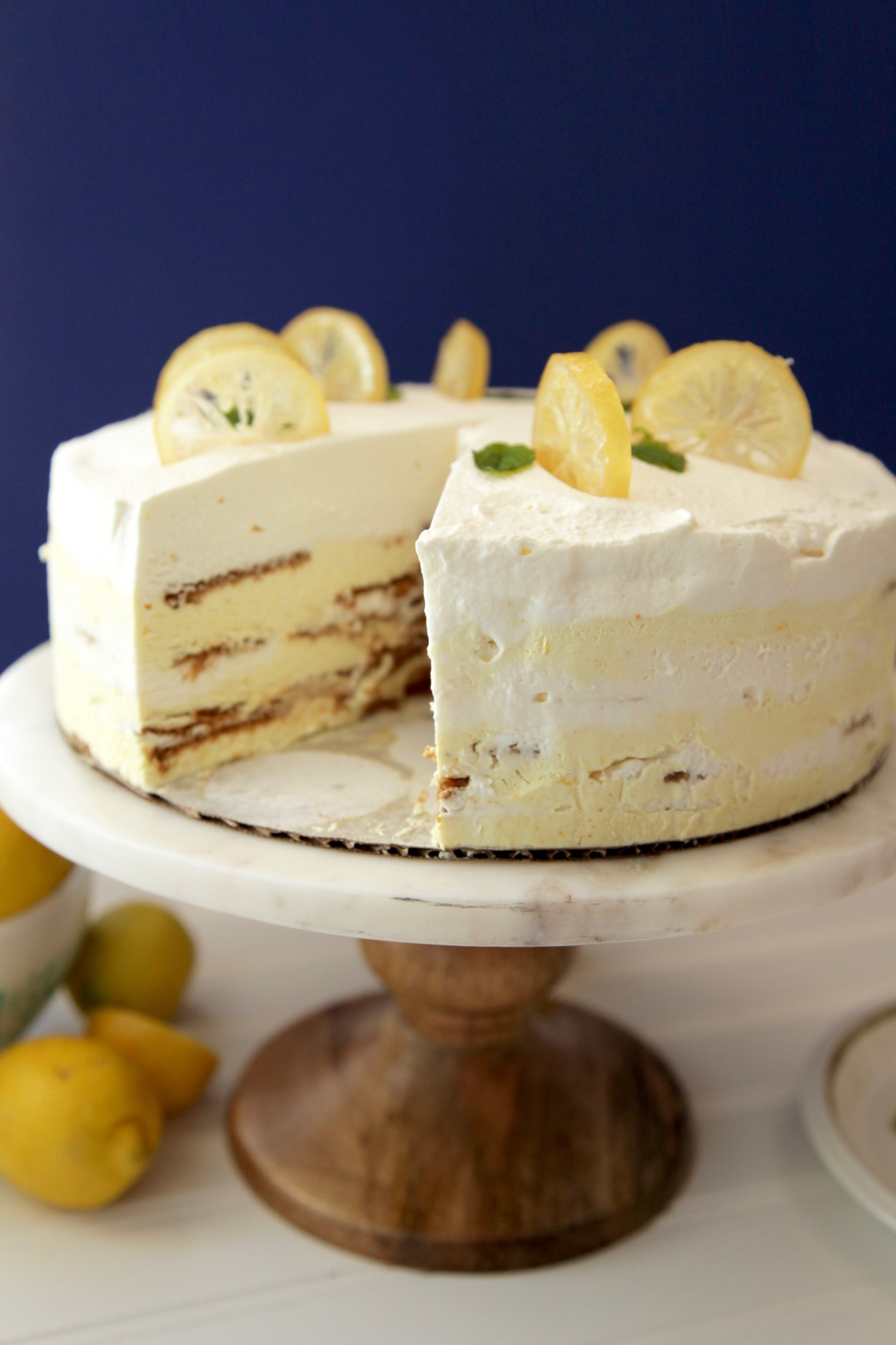 lemon sunshine icebox cake julianna strickland