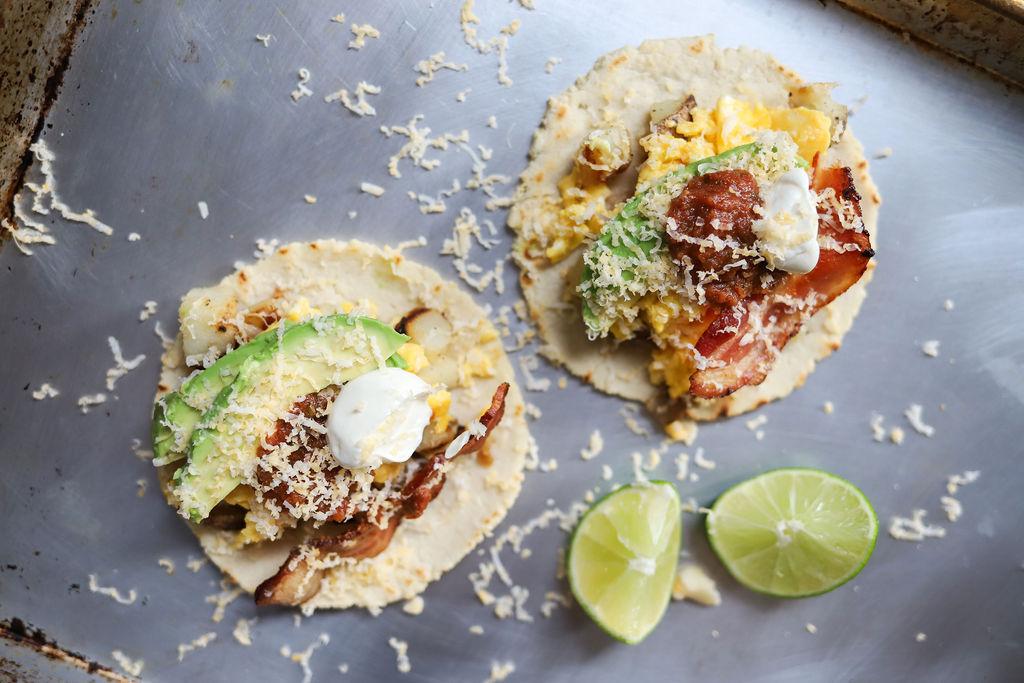 julianna strickland weekend breakfast tacos