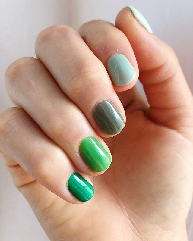 5(0) Shades of Green 🌱