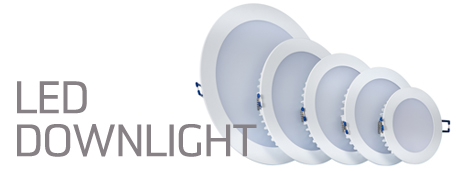 - Circular overhead lights to illuminate broad spaces.