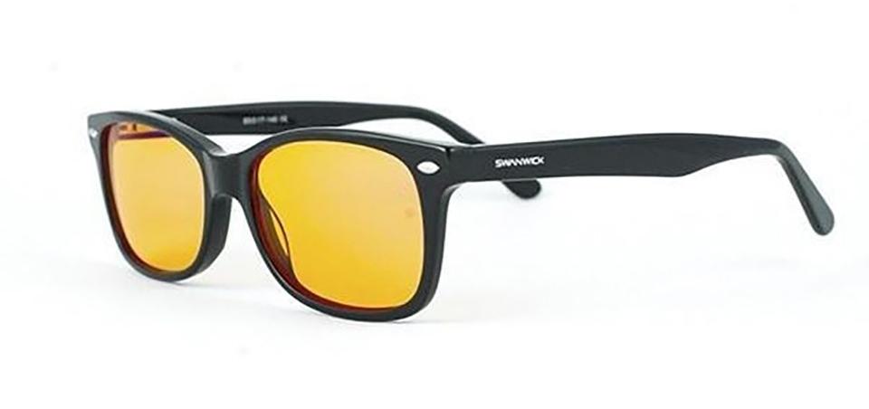 Figure 5:    Blue-blocking glasses (Credits: www.swanwicksleep.com)
