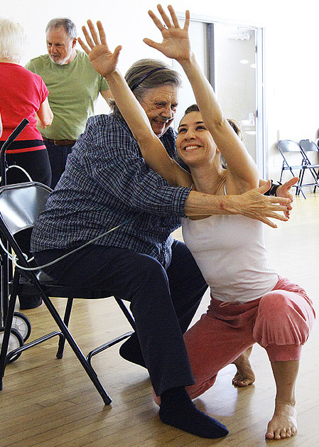 Photo from Dancing Through Parkinson's a program of Invertigo Dance Theatre
